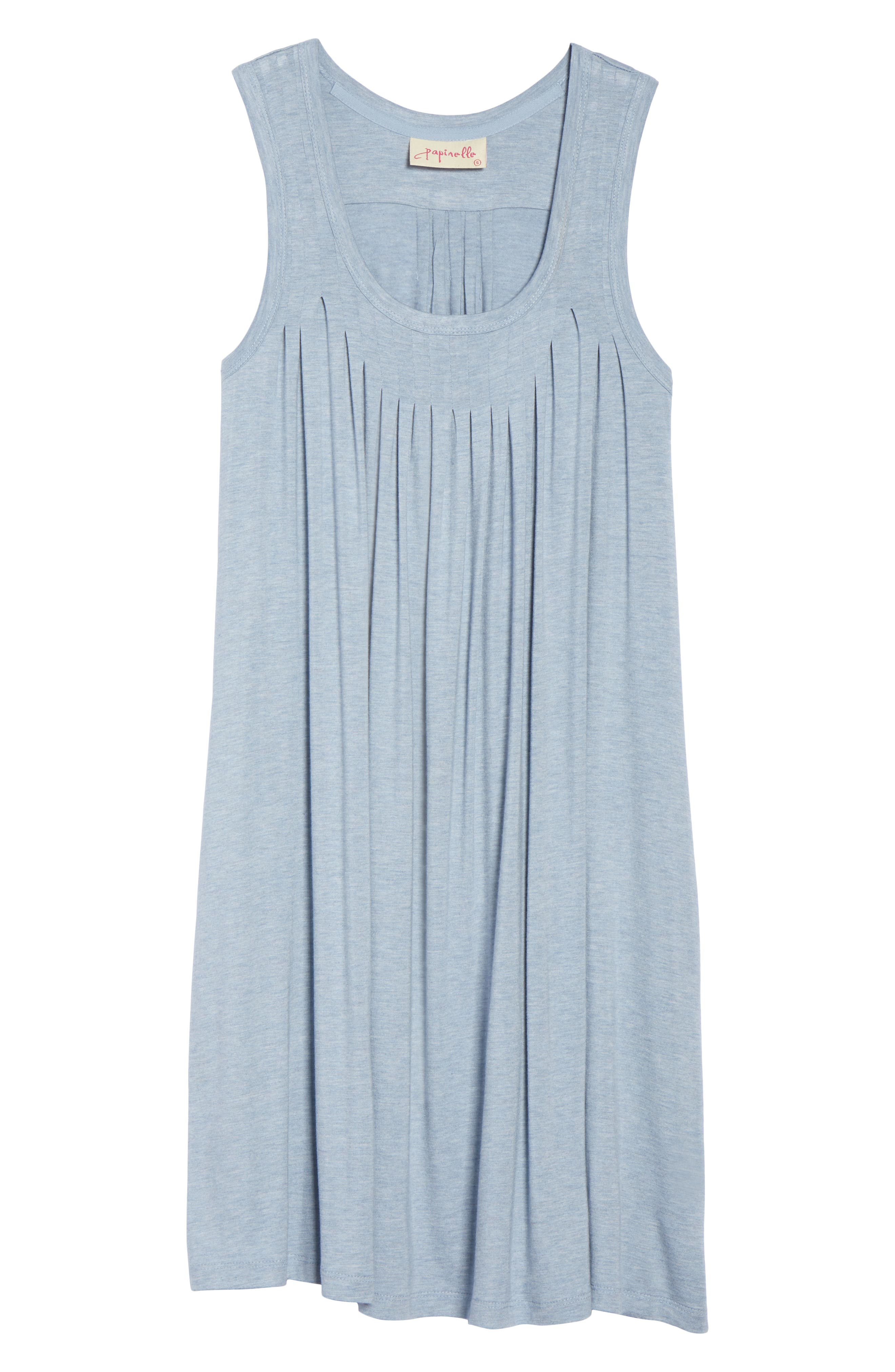 Pleated Chemise,                             Alternate thumbnail 6, color,                             459