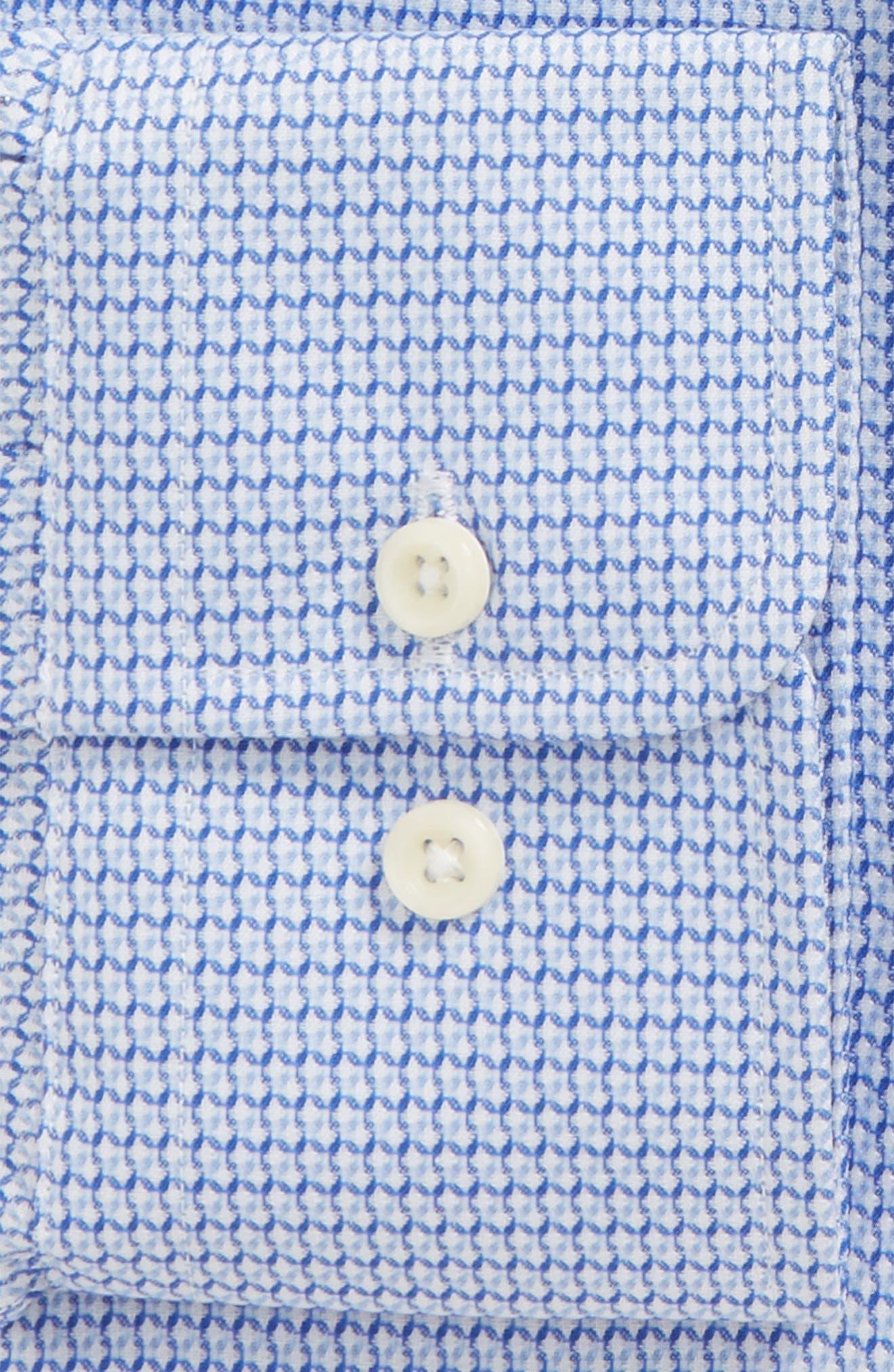 Slim Fit Geometric Dress Shirt,                             Alternate thumbnail 2, color,                             423