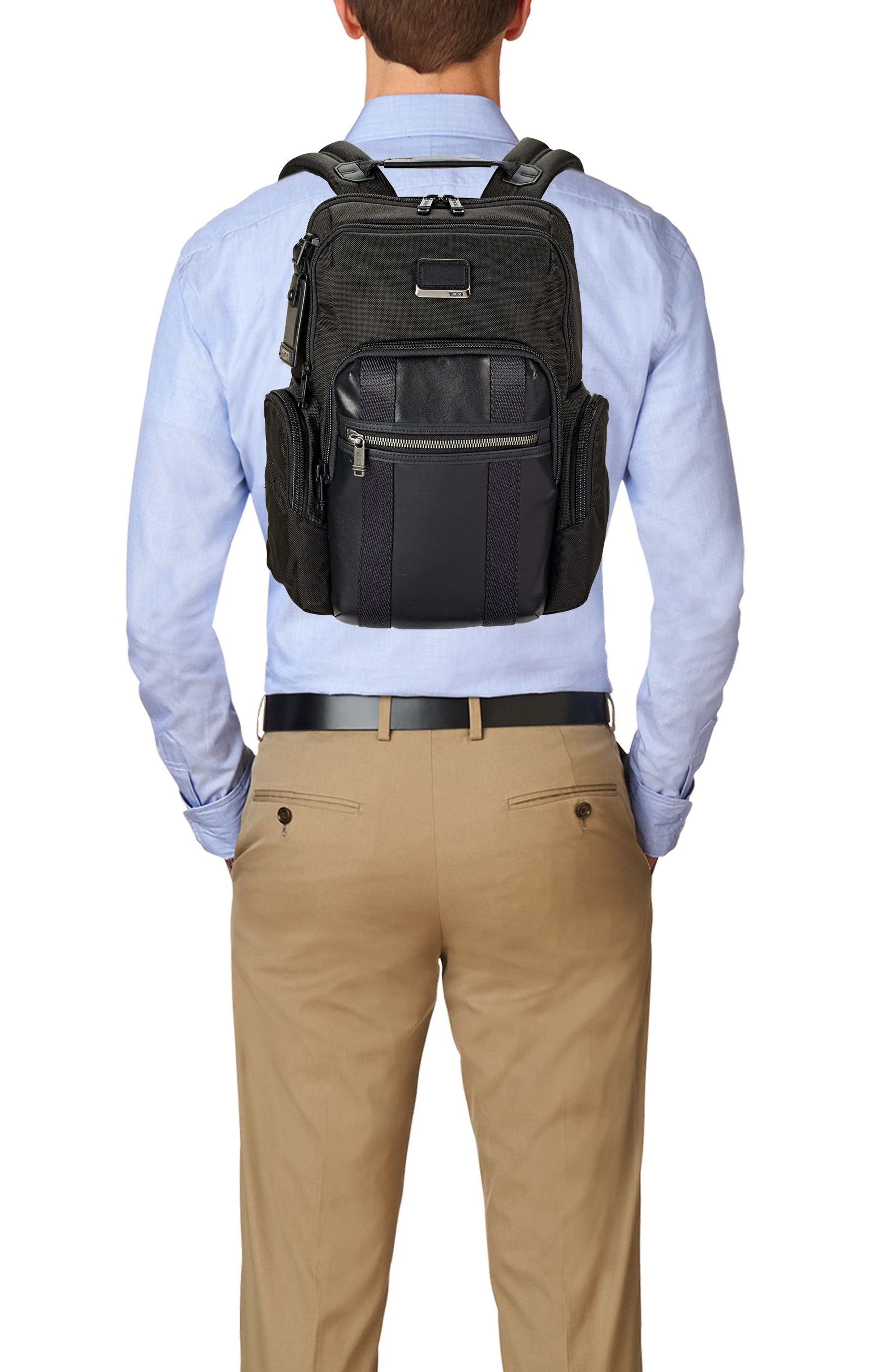Alpha Bravo - Nellis Backpack,                             Alternate thumbnail 5, color,                             BLACK