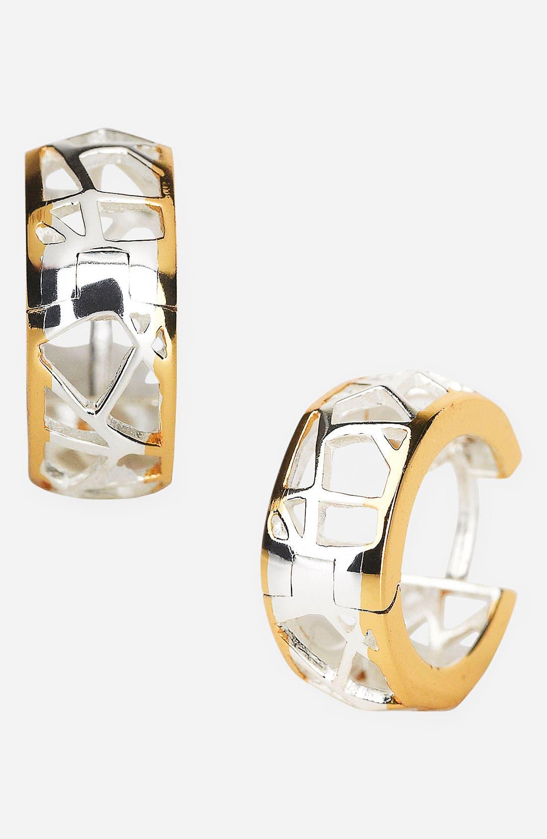 'Prism' Small Hoop Earrings,                         Main,                         color,