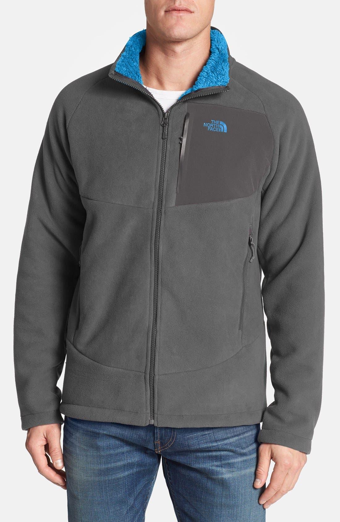 'Chimborazo' Zip Front Fleece Jacket,                             Main thumbnail 7, color,