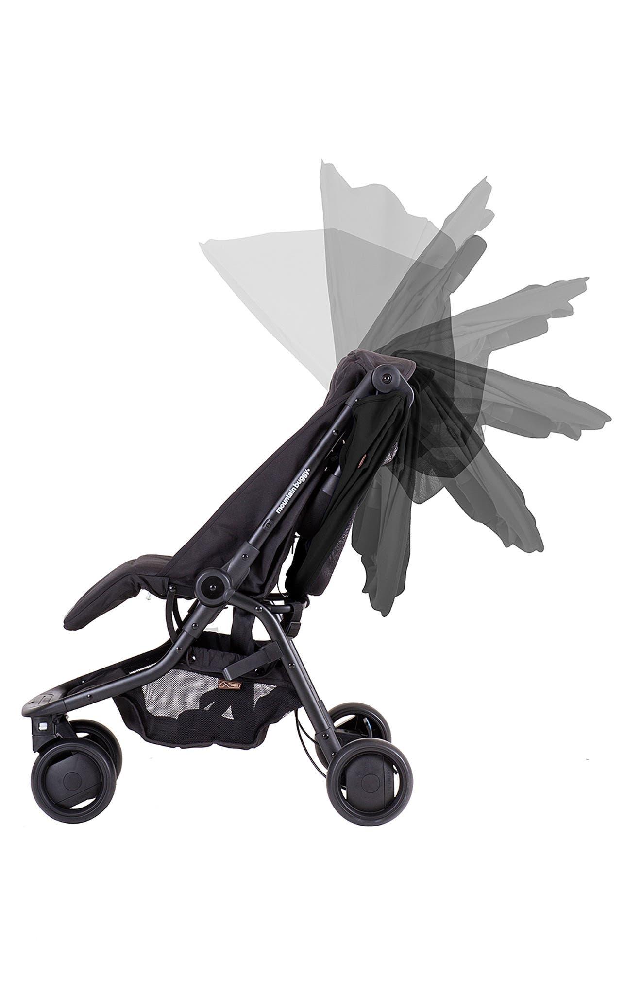 Nano Travel Stroller,                             Alternate thumbnail 11, color,                             BLACK