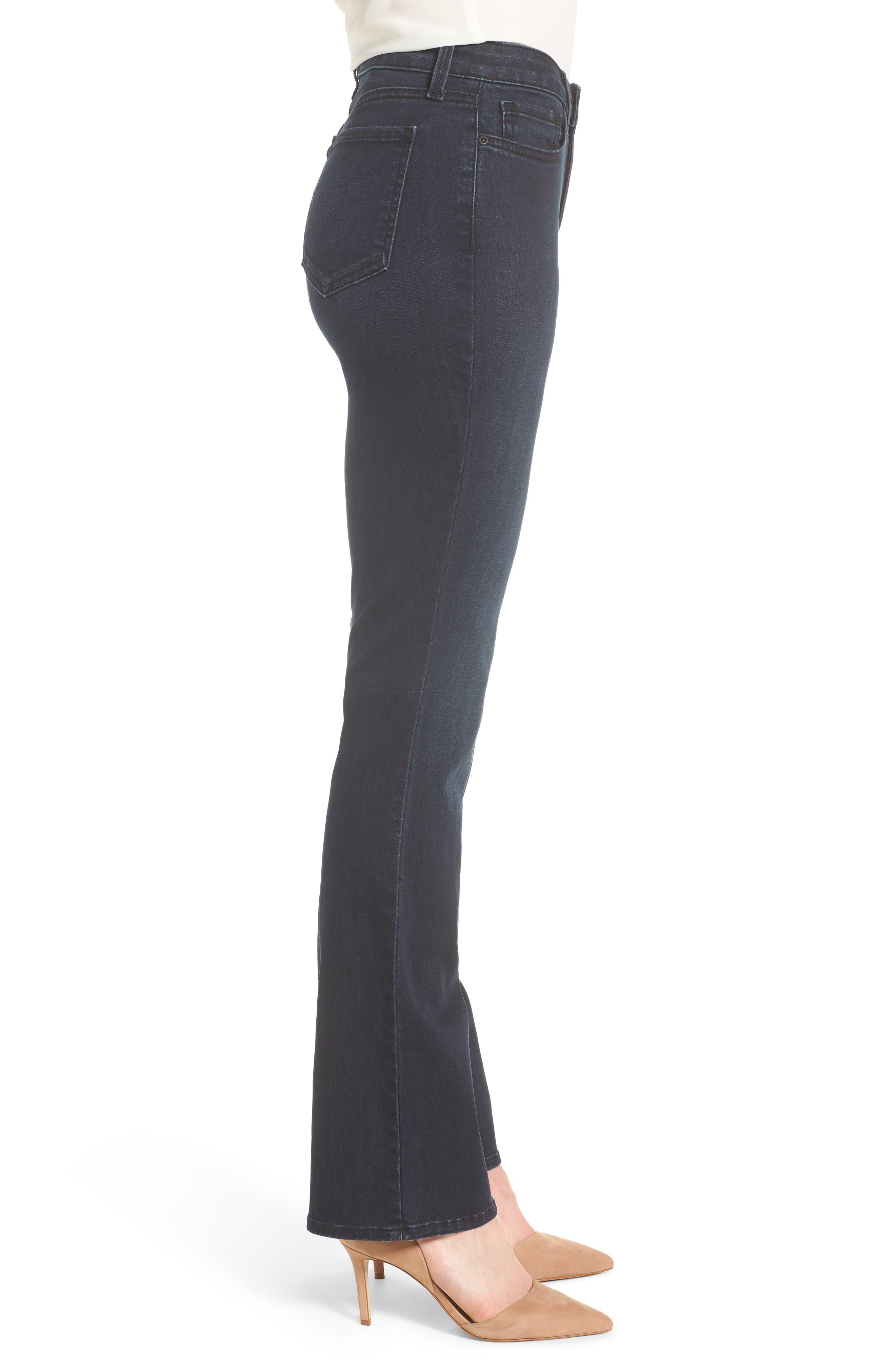 Barbara Bootcut Stretch Skinny Jeans,                             Alternate thumbnail 3, color,                             407
