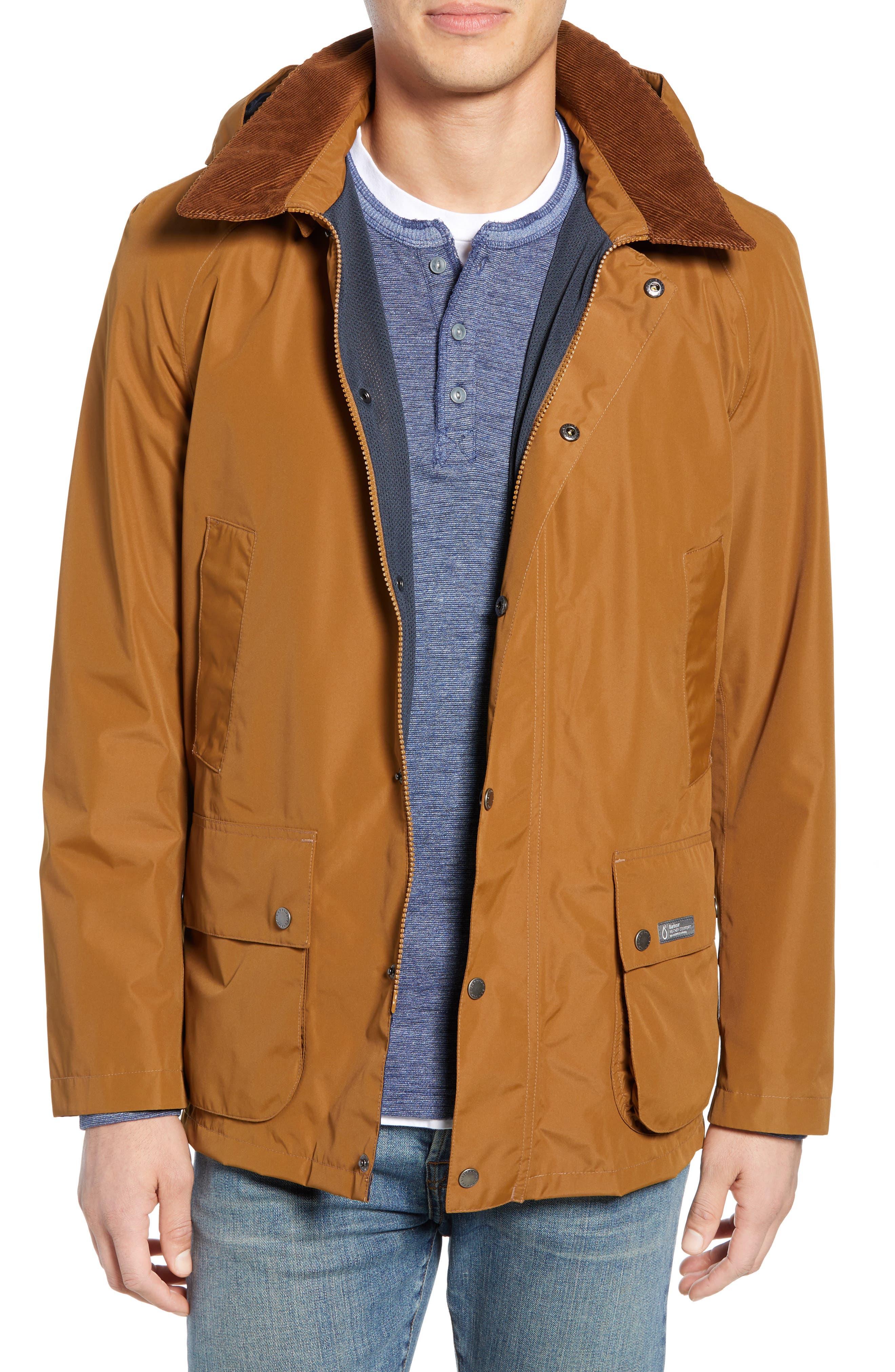 Barbour Arlington Waterproof Hooded Jacket, Metallic