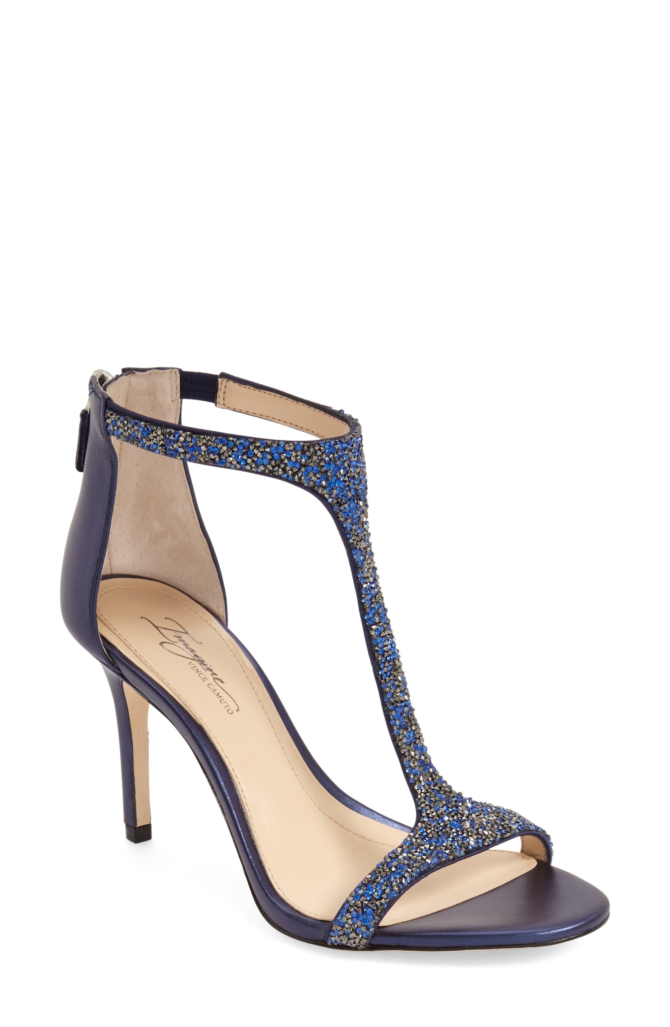 'Phoebe' Embellished T-Strap Sandal,                             Alternate thumbnail 34, color,
