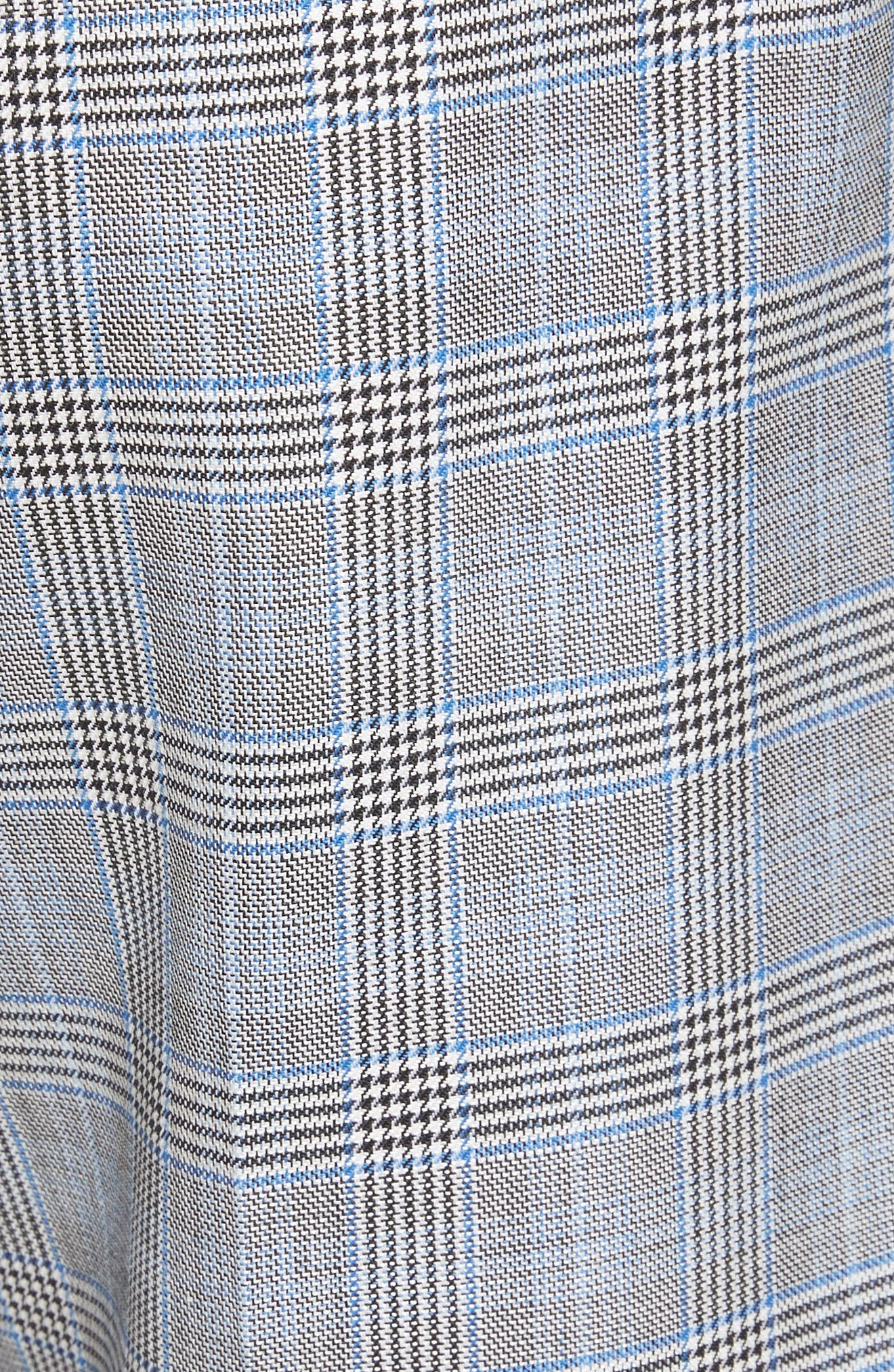 Removable Corset Plaid Shorts,                             Alternate thumbnail 5, color,                             020