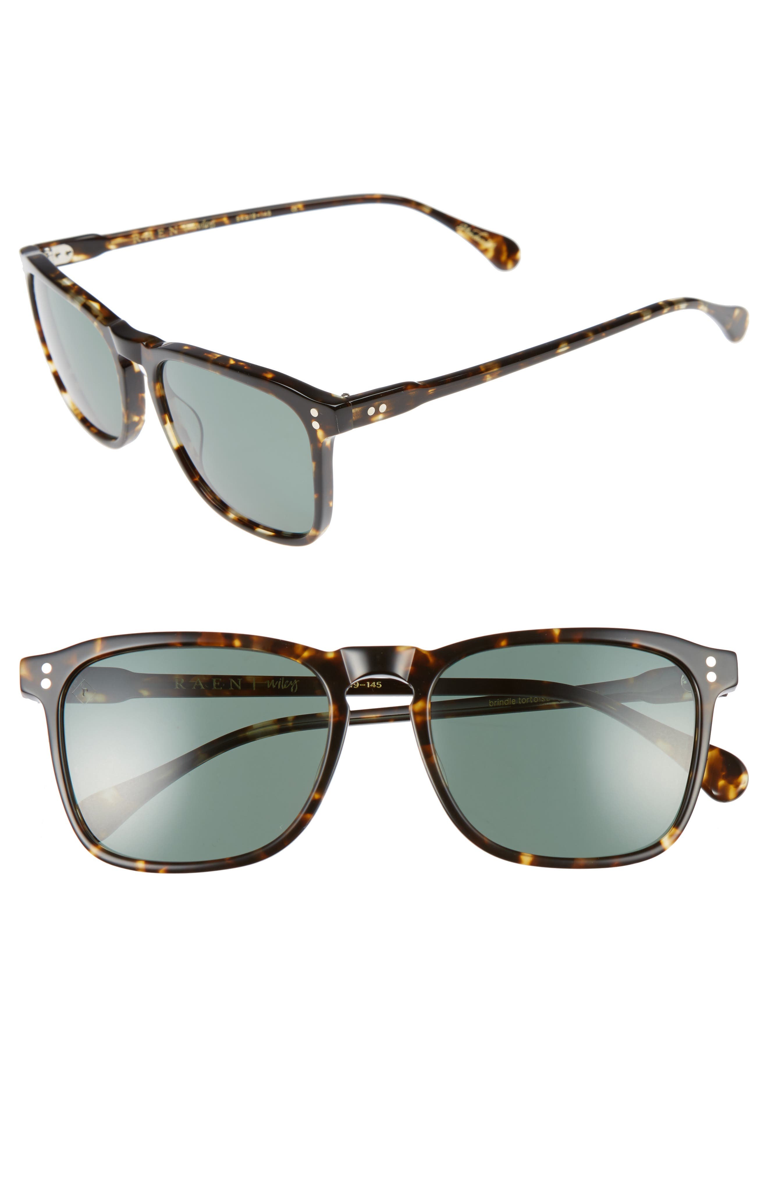 Wiley 54mm Sunglasses,                             Alternate thumbnail 4, color,