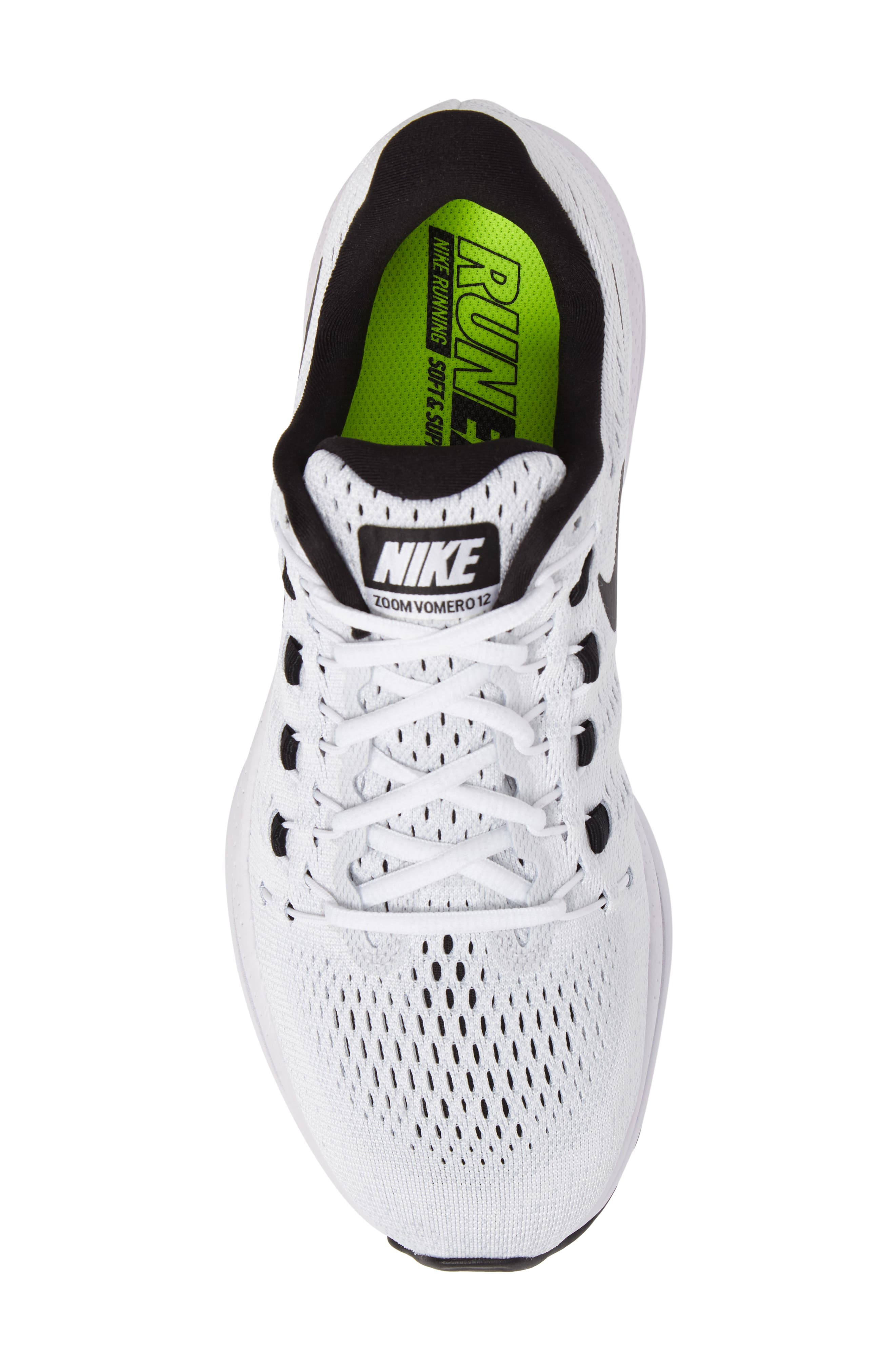 NIKE,                             Air Zoom Vomero 12 Running Shoe,                             Alternate thumbnail 5, color,                             100