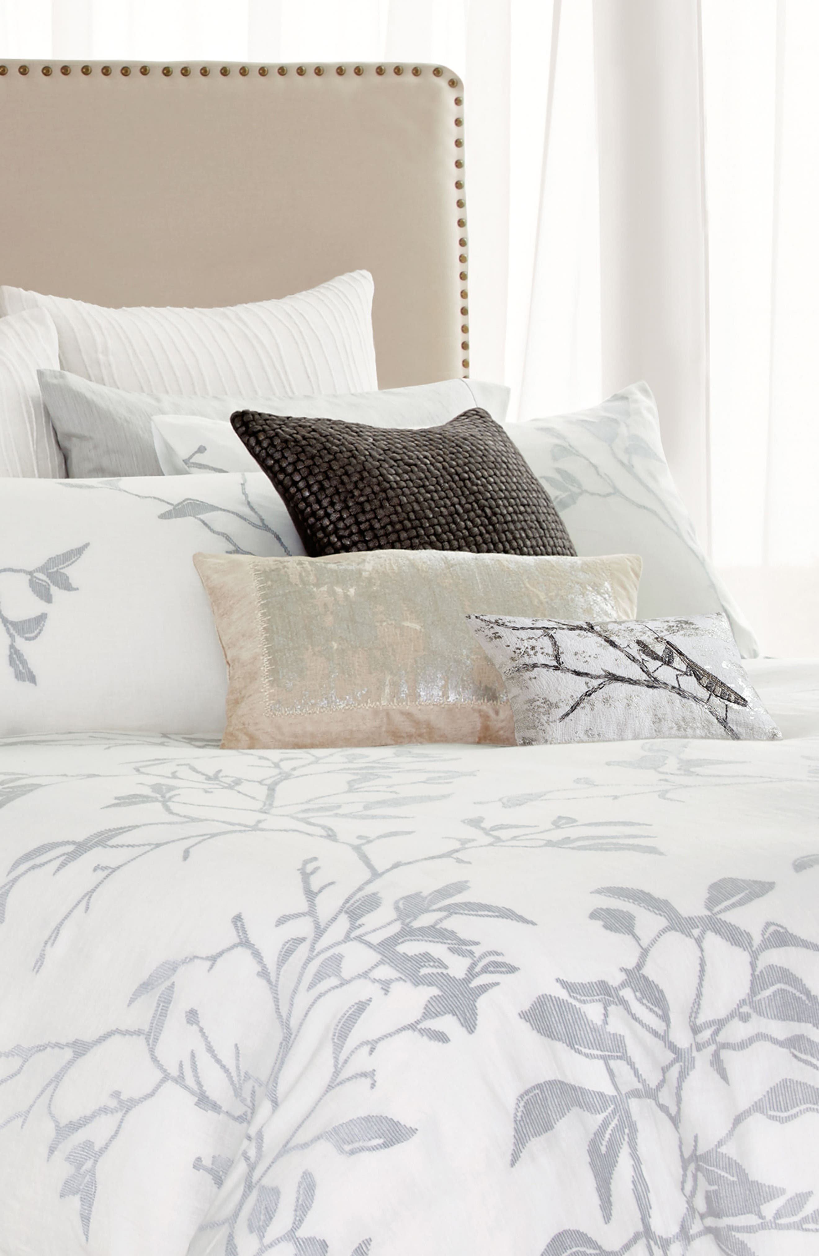 Branch Duvet Cover,                             Alternate thumbnail 6, color,