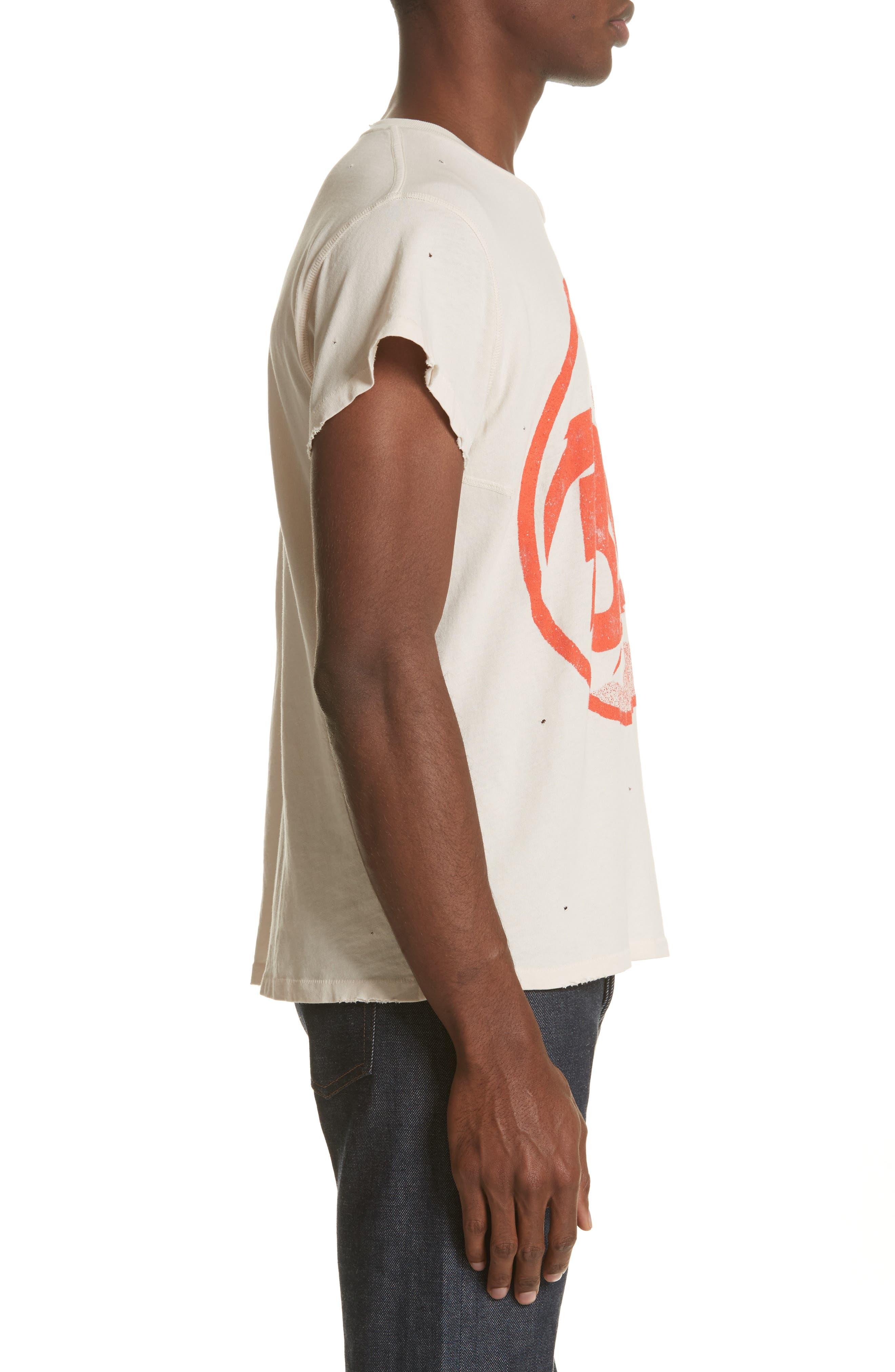 David Bowie Graphic T-Shirt,                             Alternate thumbnail 3, color,                             100