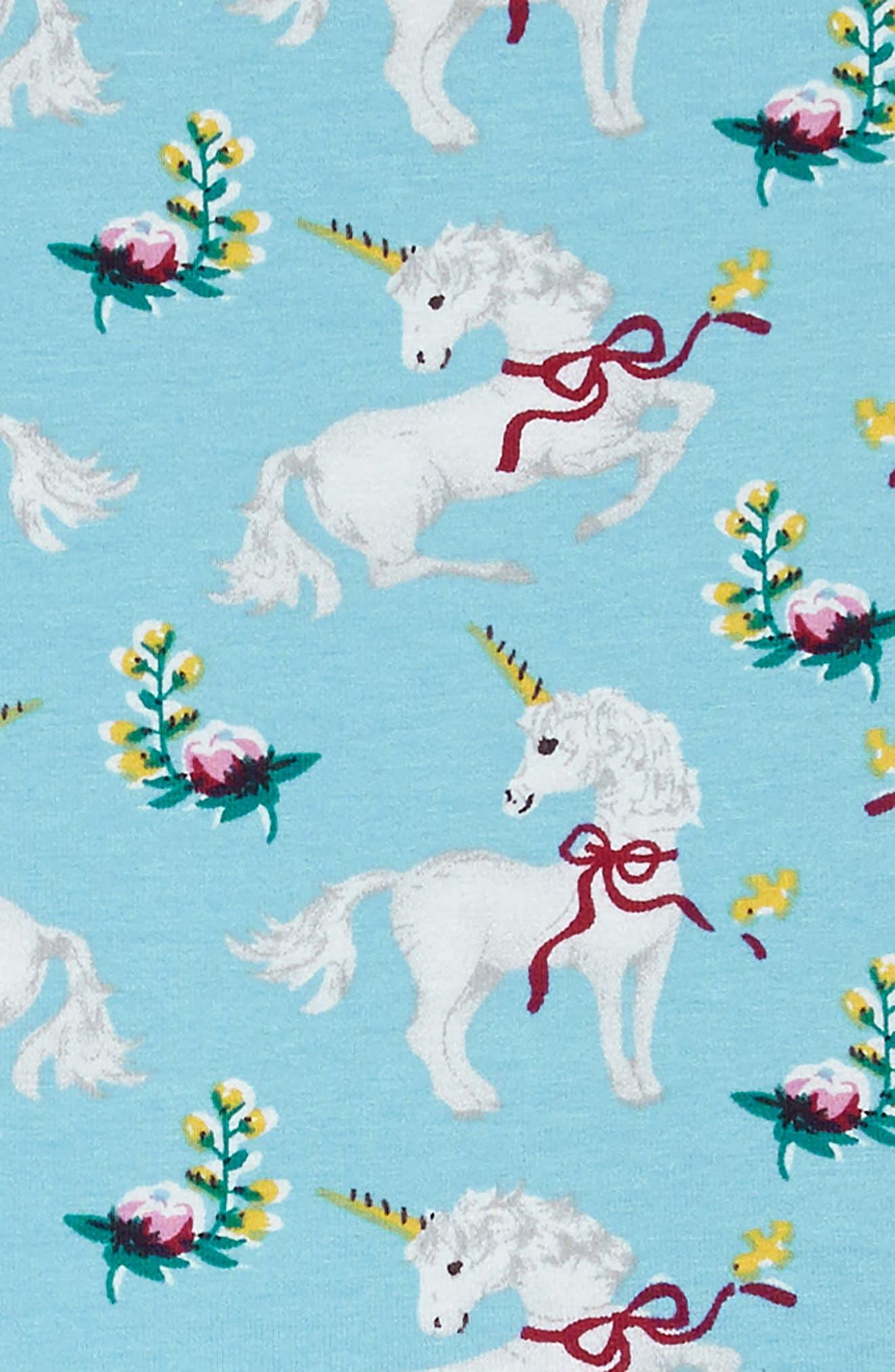 White Unicorns Dress,                             Alternate thumbnail 3, color,