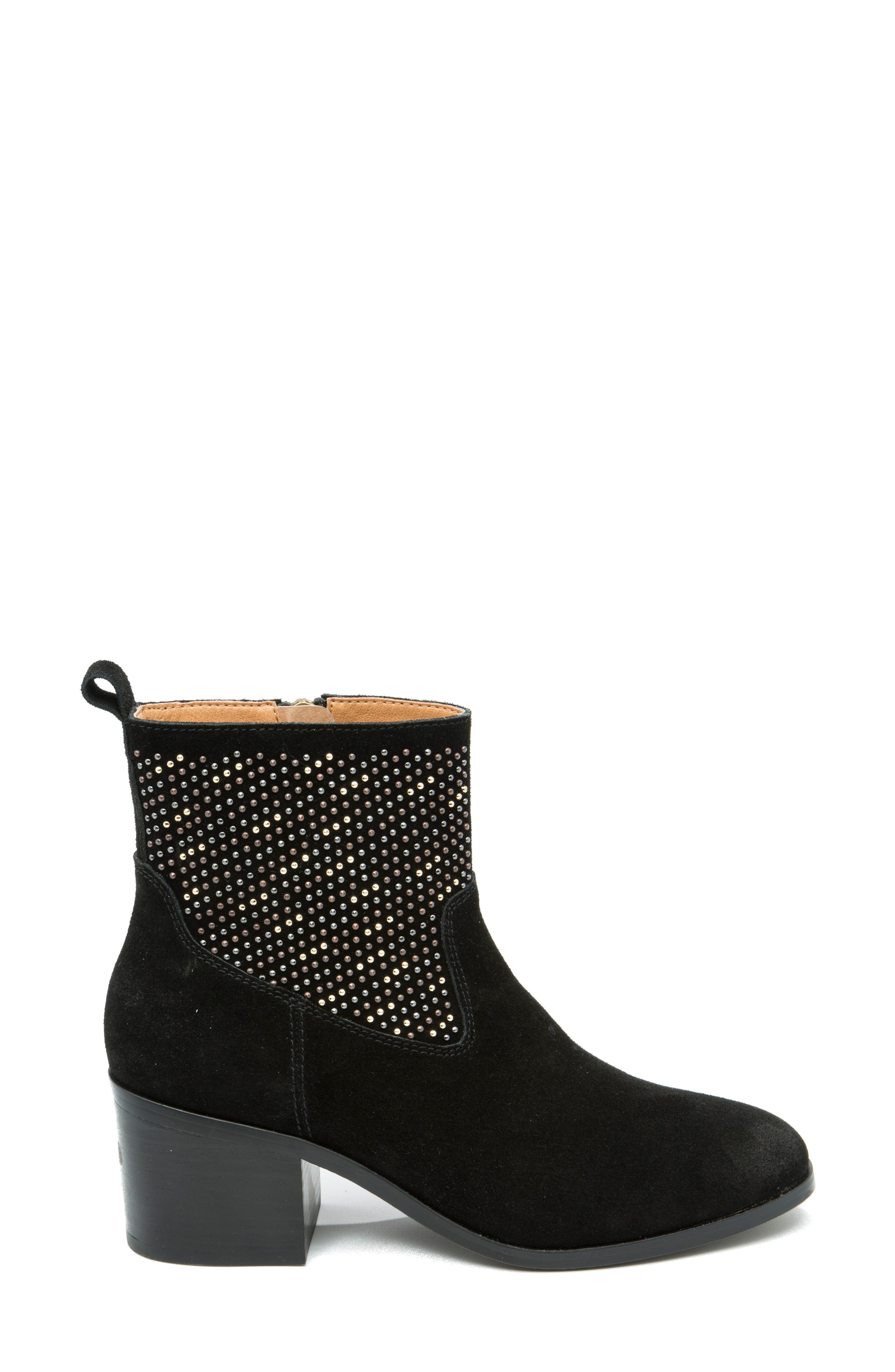 Dosa Studded Bootie,                             Alternate thumbnail 3, color,