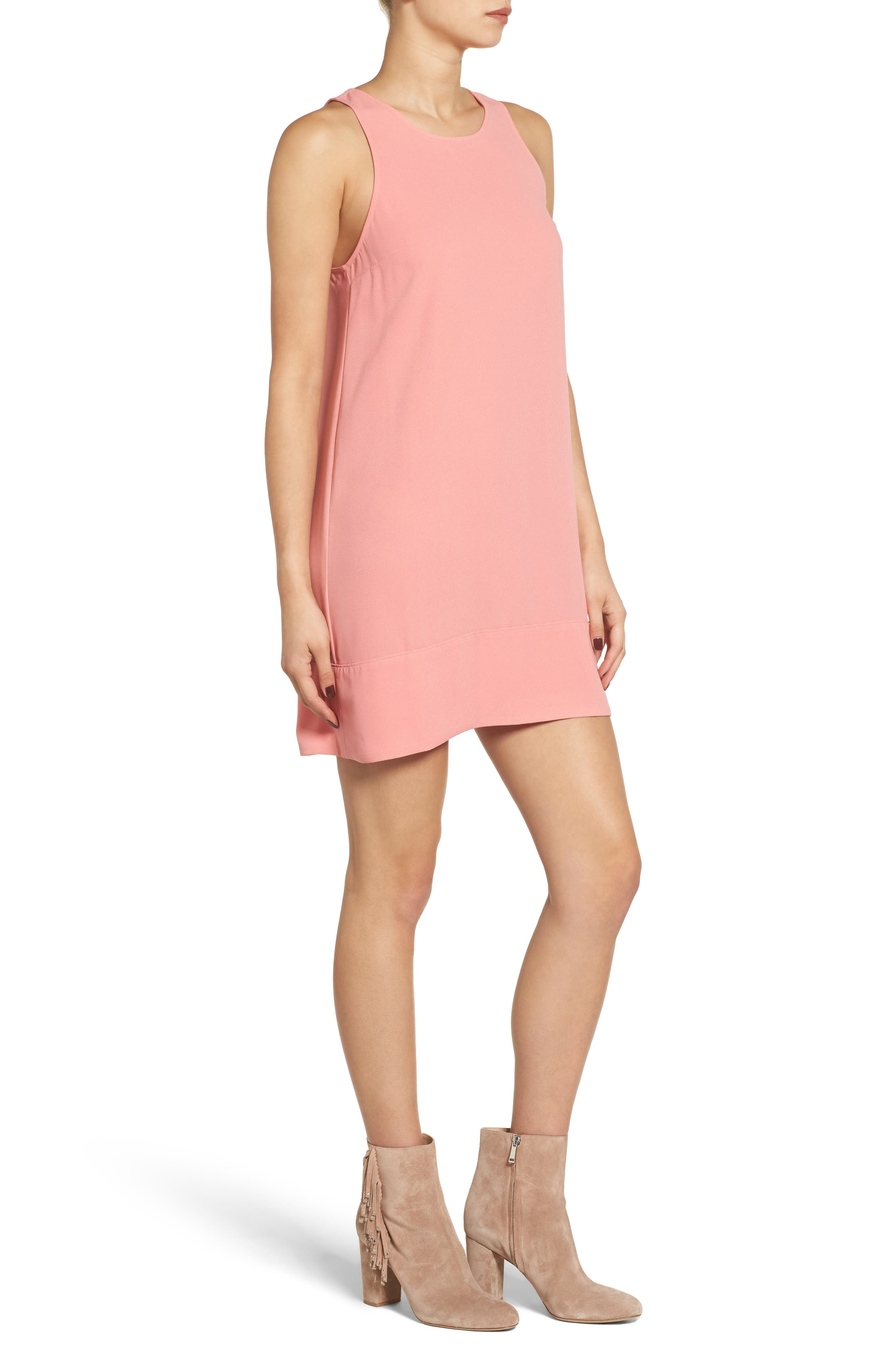Racerback Shift Dress,                             Alternate thumbnail 148, color,