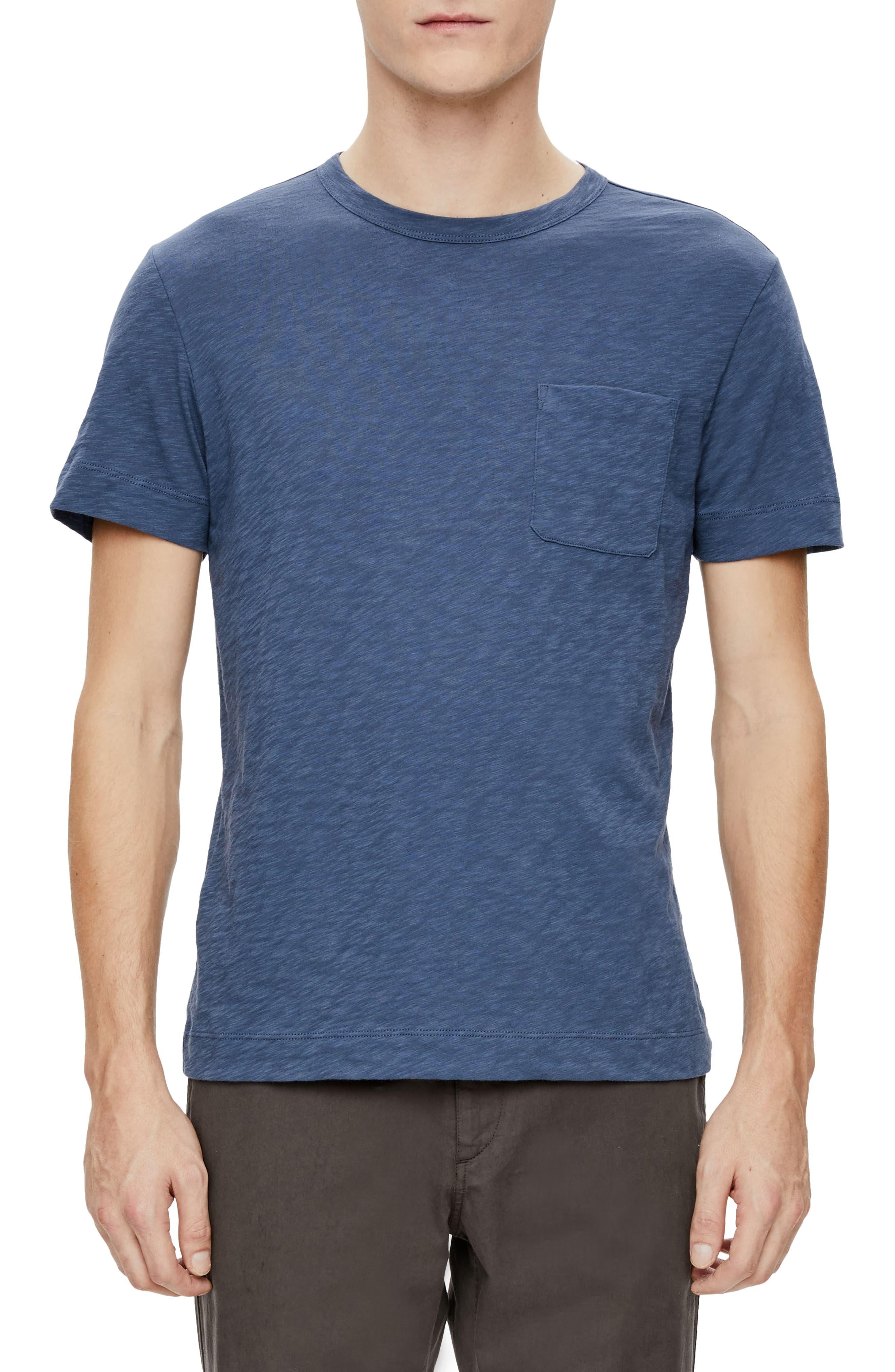 Gaskell Nebulous Slub Pocket T-Shirt,                         Main,                         color, 400