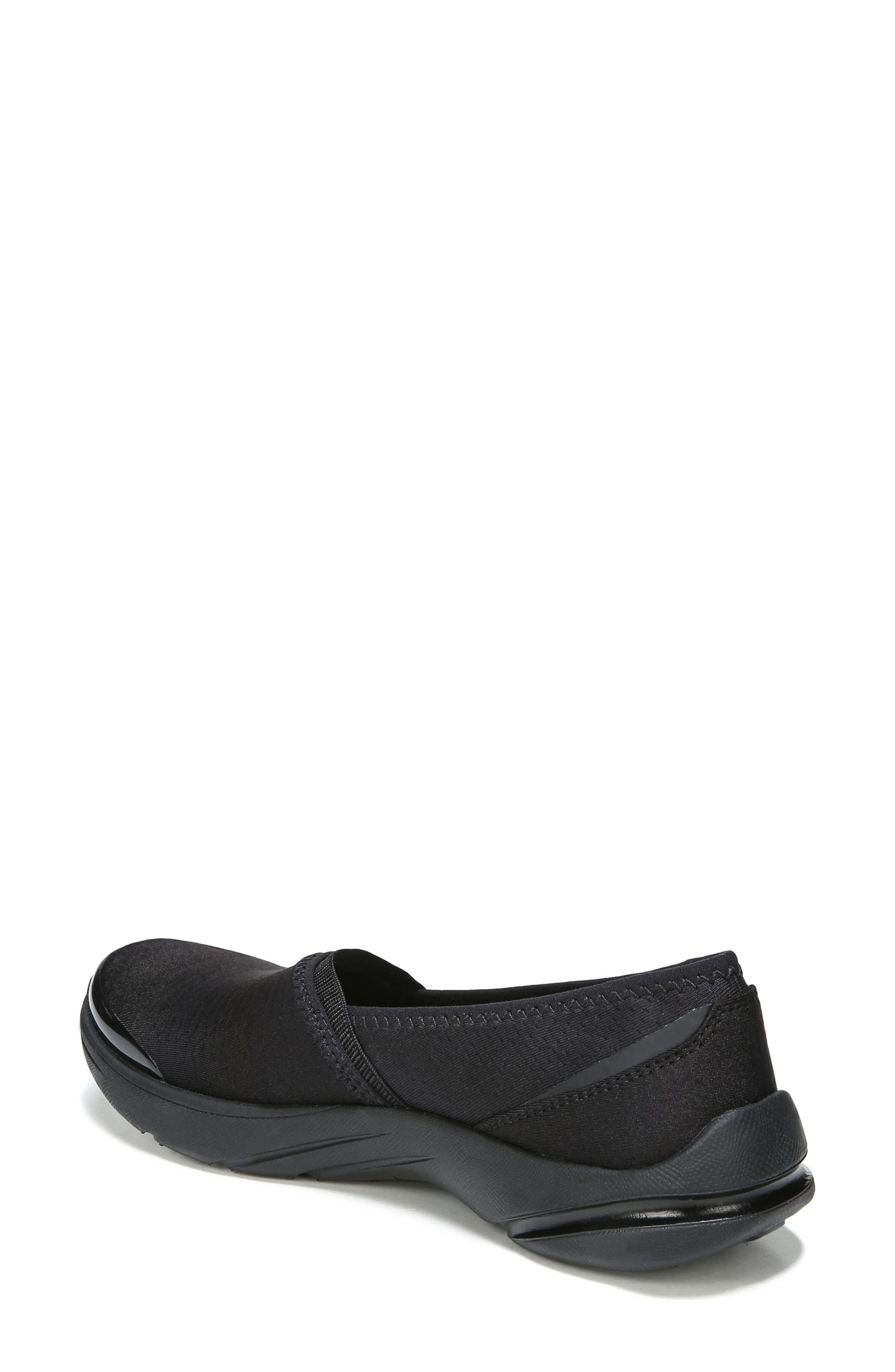 Lollipop Slip-On Sneaker,                             Alternate thumbnail 2, color,                             BLACK FABRIC