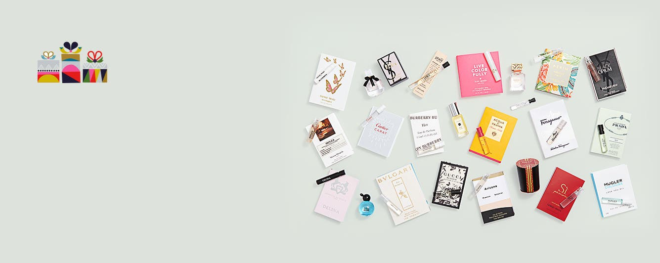 Free 23-piece gift with $135 fragrance purchase.