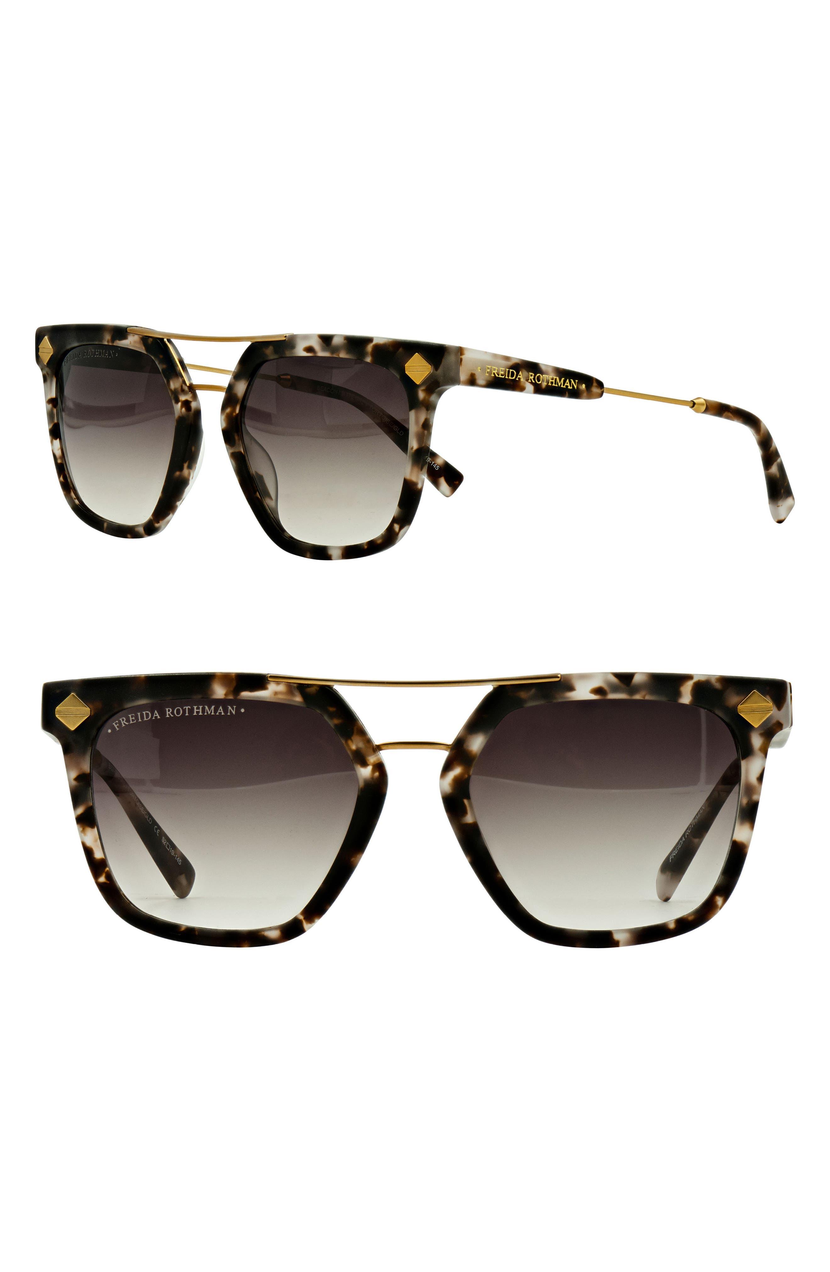 Beacon 52mm Aviator Sunglasses,                             Main thumbnail 2, color,