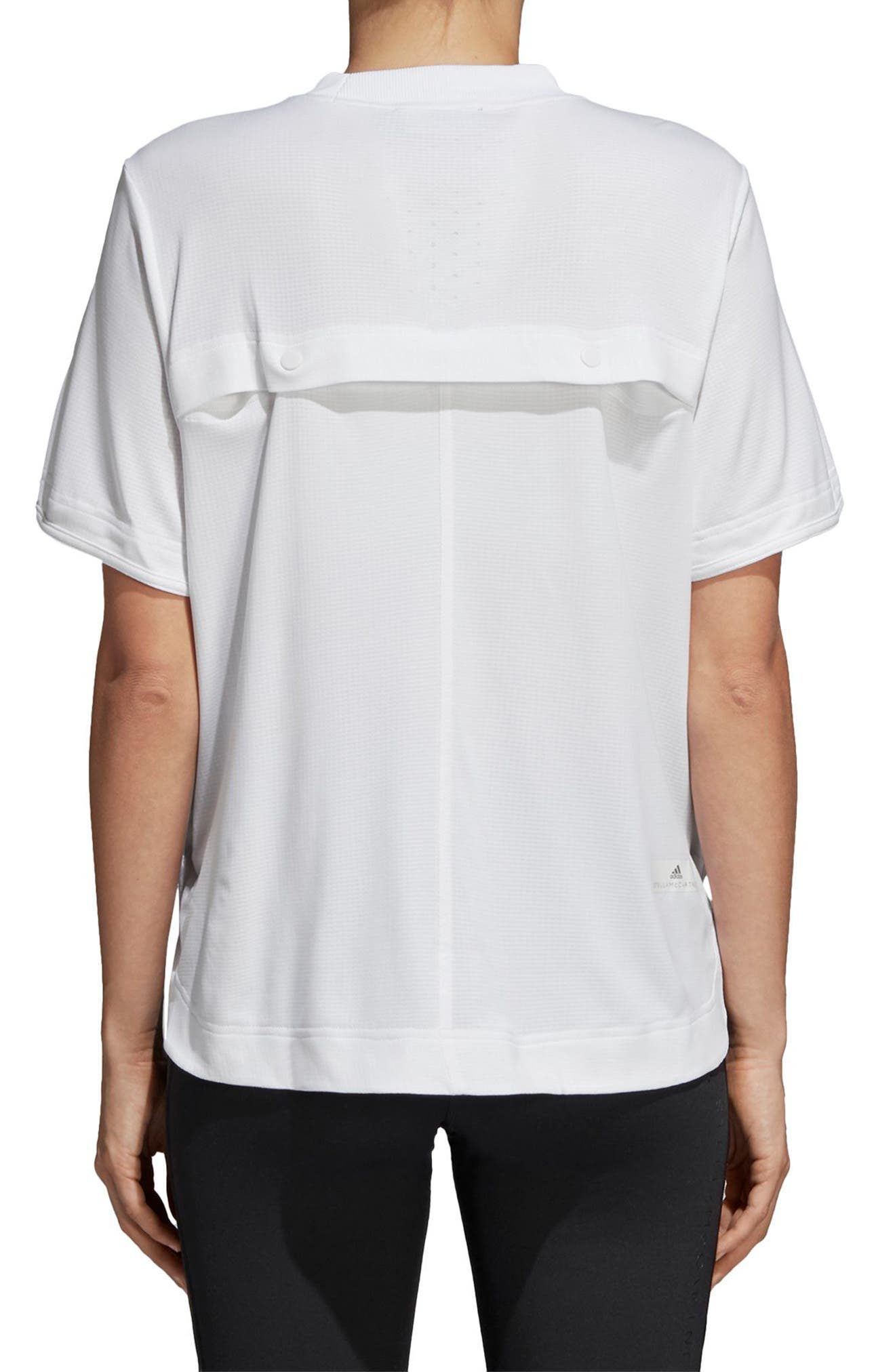 Train CLIMACHILL<sup>™</sup> Tee,                             Alternate thumbnail 2, color,                             WHITE