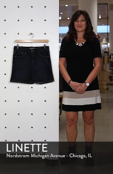 Ab-solution Cuffed Denim Shorts, sales video thumbnail
