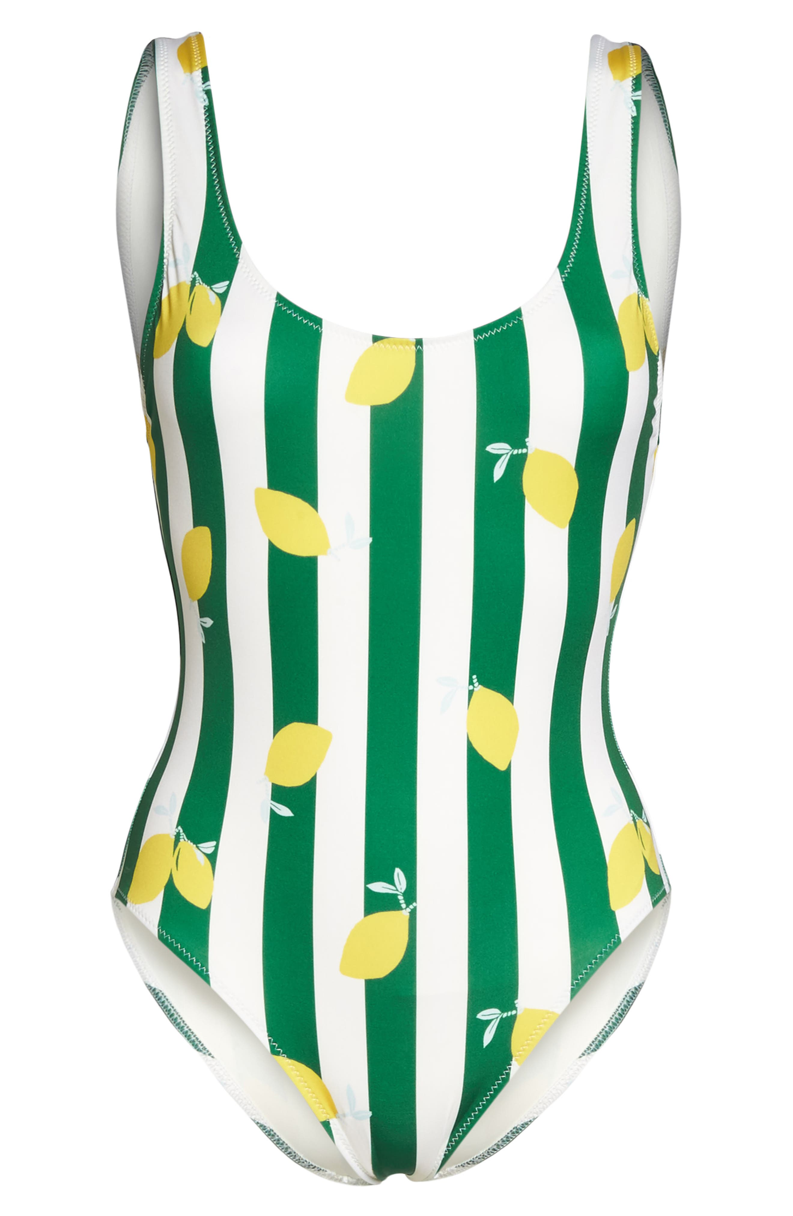 The Anne Marie One-Piece Swimsuit,                             Alternate thumbnail 6, color,                             360