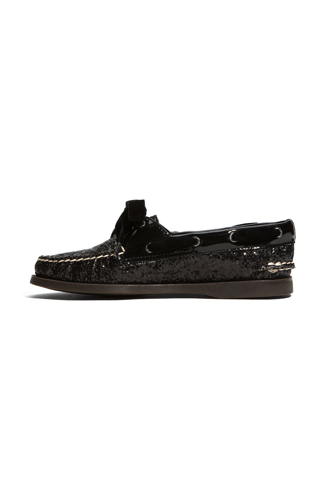SPERRY,                             Top-Sider<sup>®</sup> 'Authentic Original Glitter' Boat Shoe,                             Alternate thumbnail 4, color,                             005