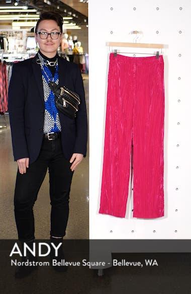 Crinkled Velvet Trousers, sales video thumbnail