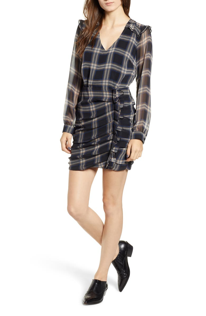 Heartloom ANTHEA PLAID SHEATH DRESS