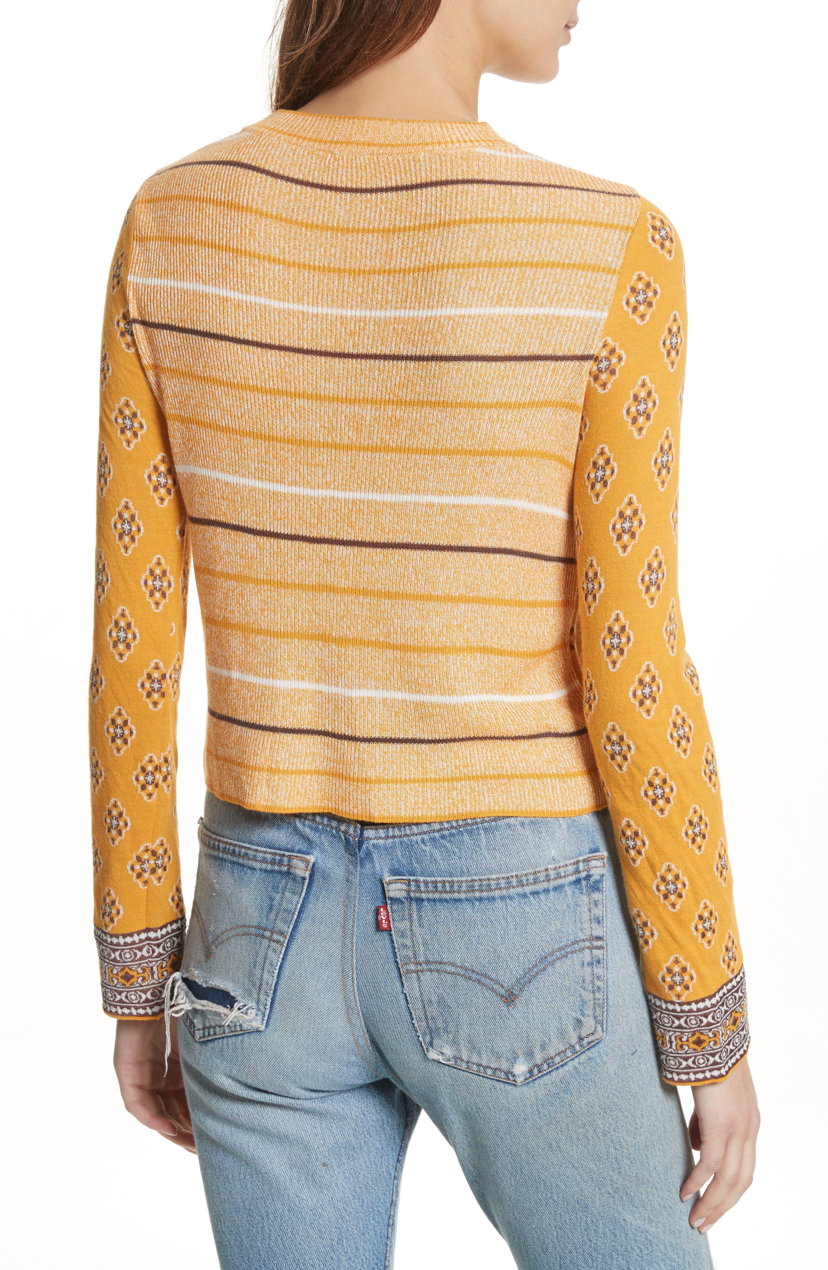 New Age Crewneck Sweater,                             Alternate thumbnail 5, color,