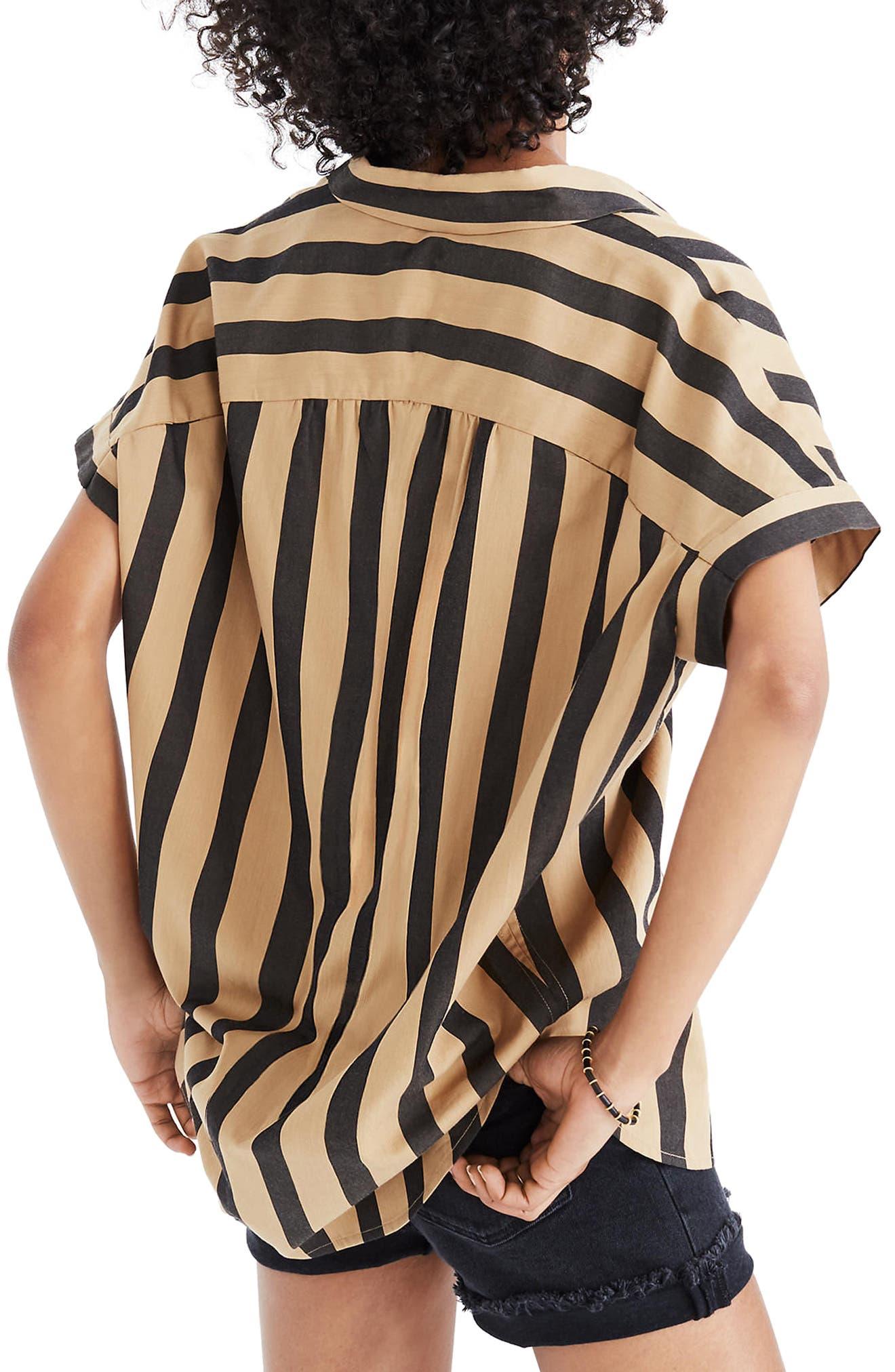 Central Edna Stripe Shirt,                             Alternate thumbnail 2, color,                             200