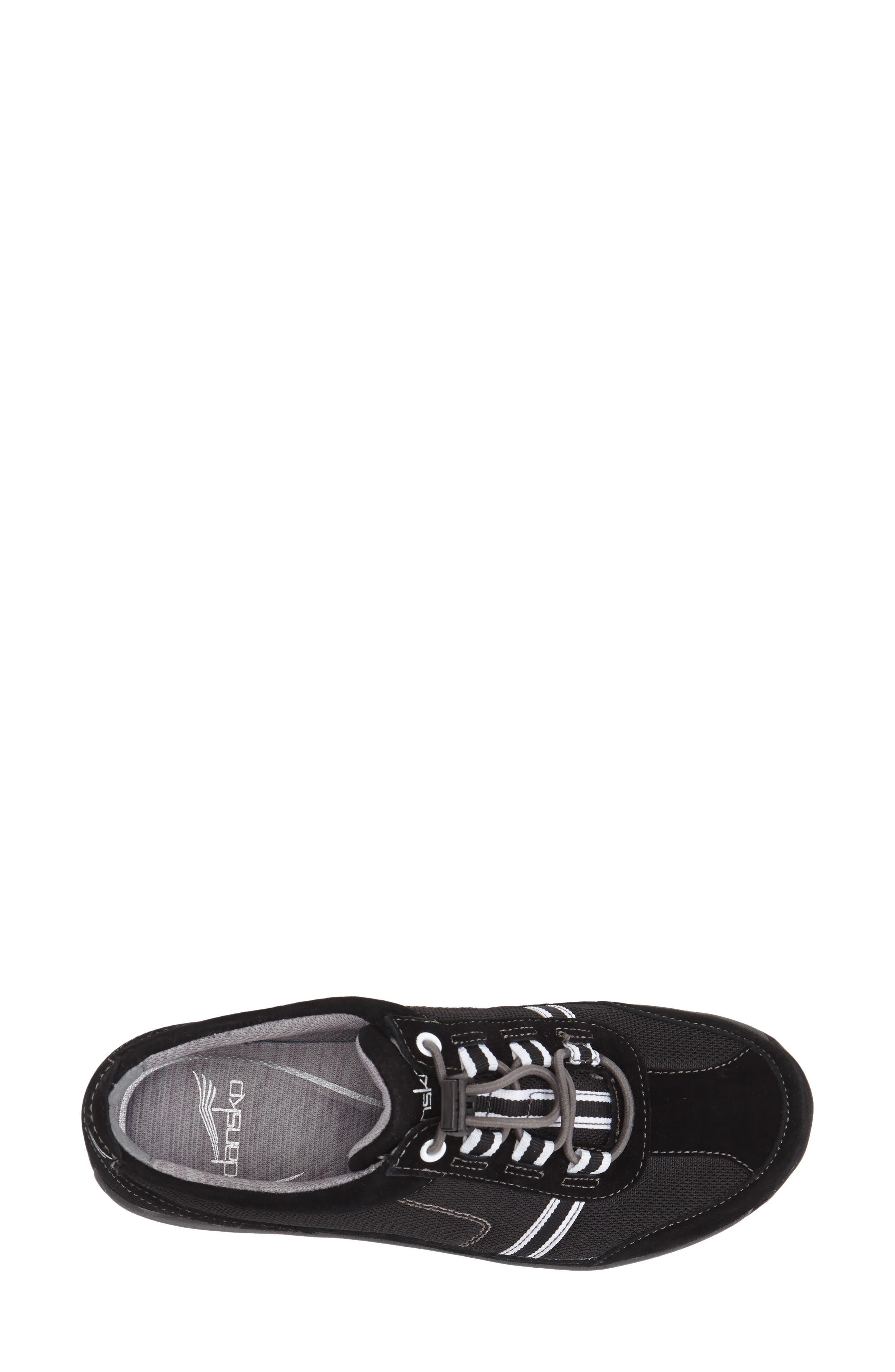 'Helen' Suede & Mesh Sneaker,                             Alternate thumbnail 46, color,