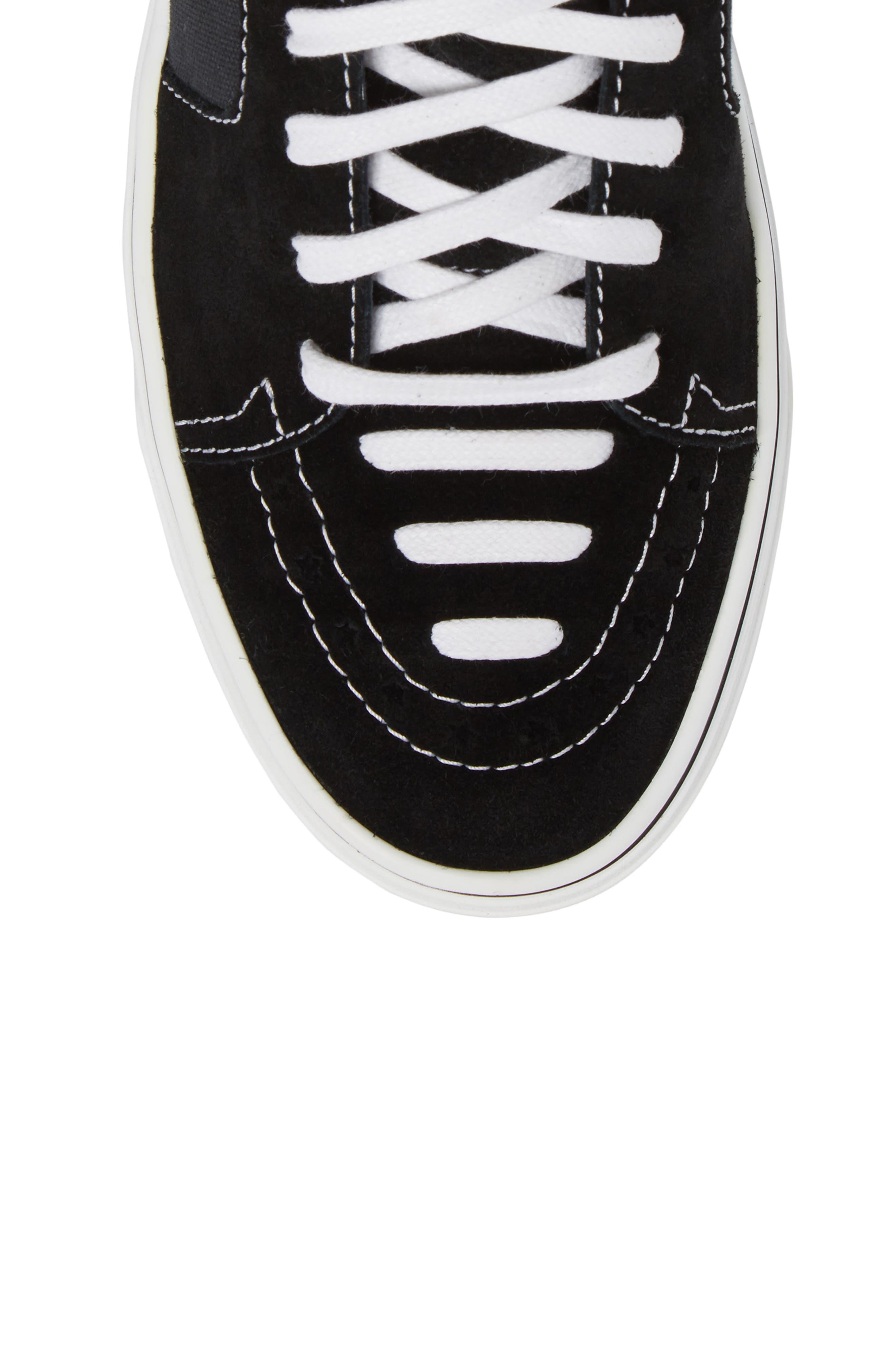 High Top Sneaker,                             Alternate thumbnail 5, color,                             004