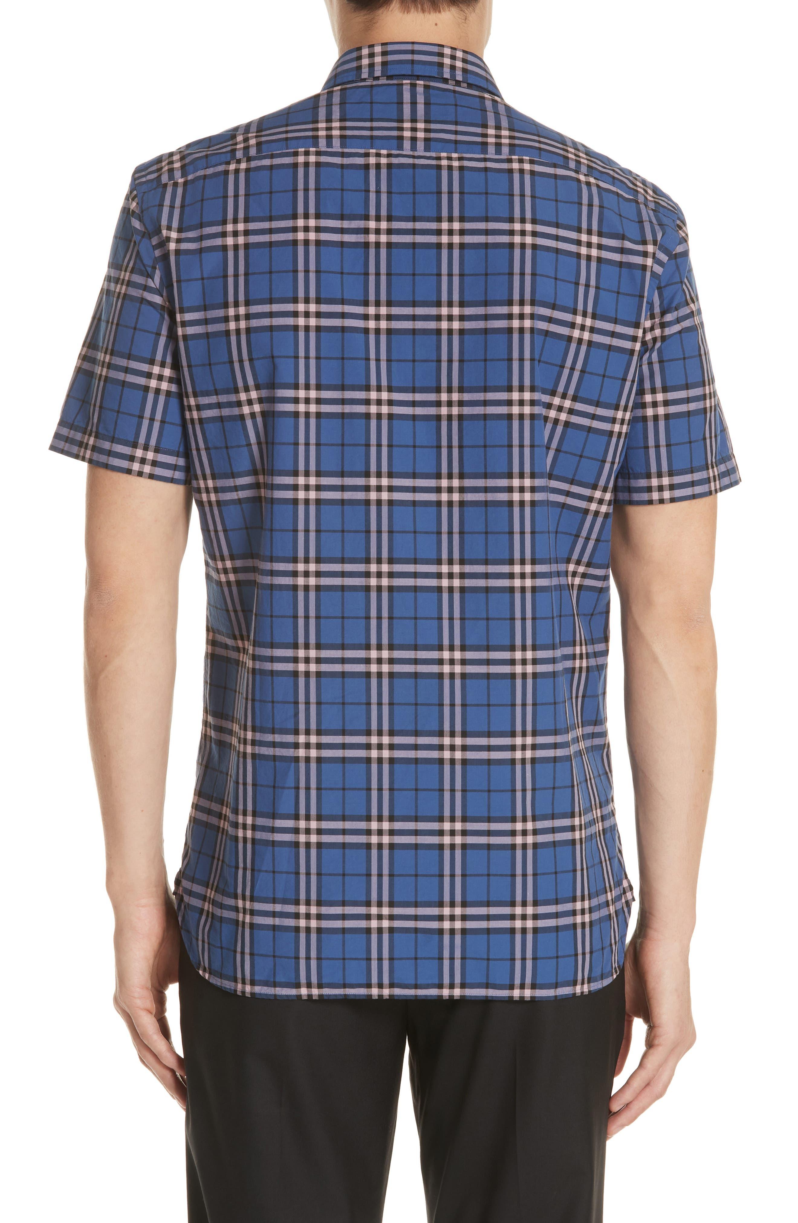 Alexander Check Shirt,                             Alternate thumbnail 2, color,                             409