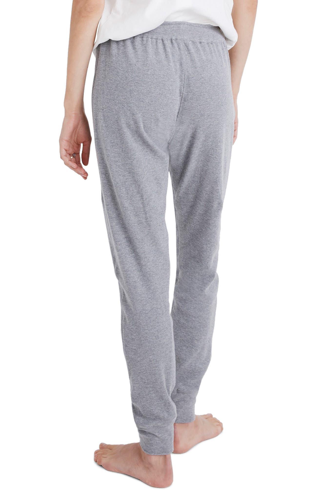 Honeycomb Pajama Sweatpants,                             Alternate thumbnail 2, color,                             HEATHER PEPPER