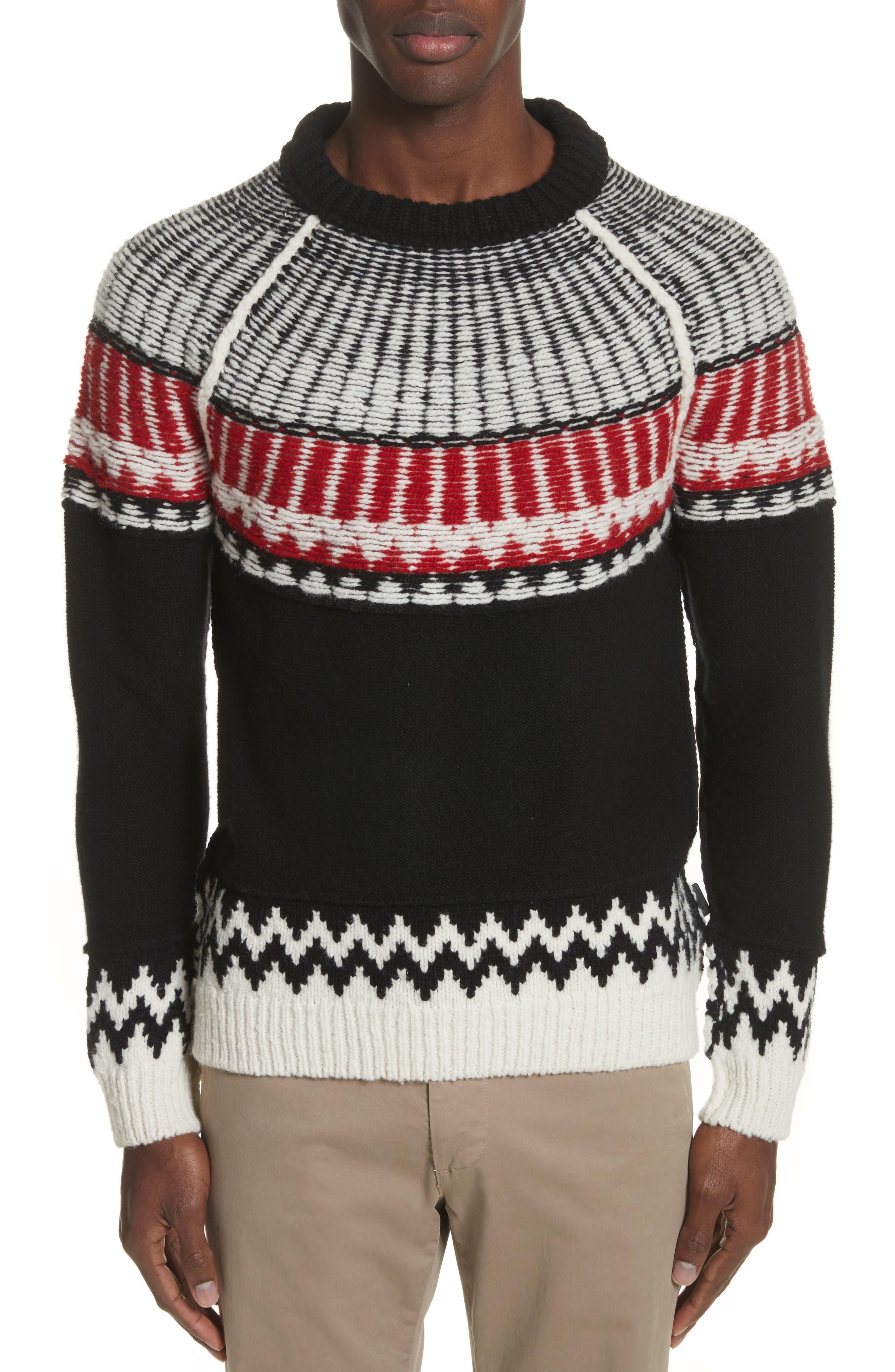 Rycroft Wool & Cashmere Blend Sweater,                             Main thumbnail 1, color,                             001