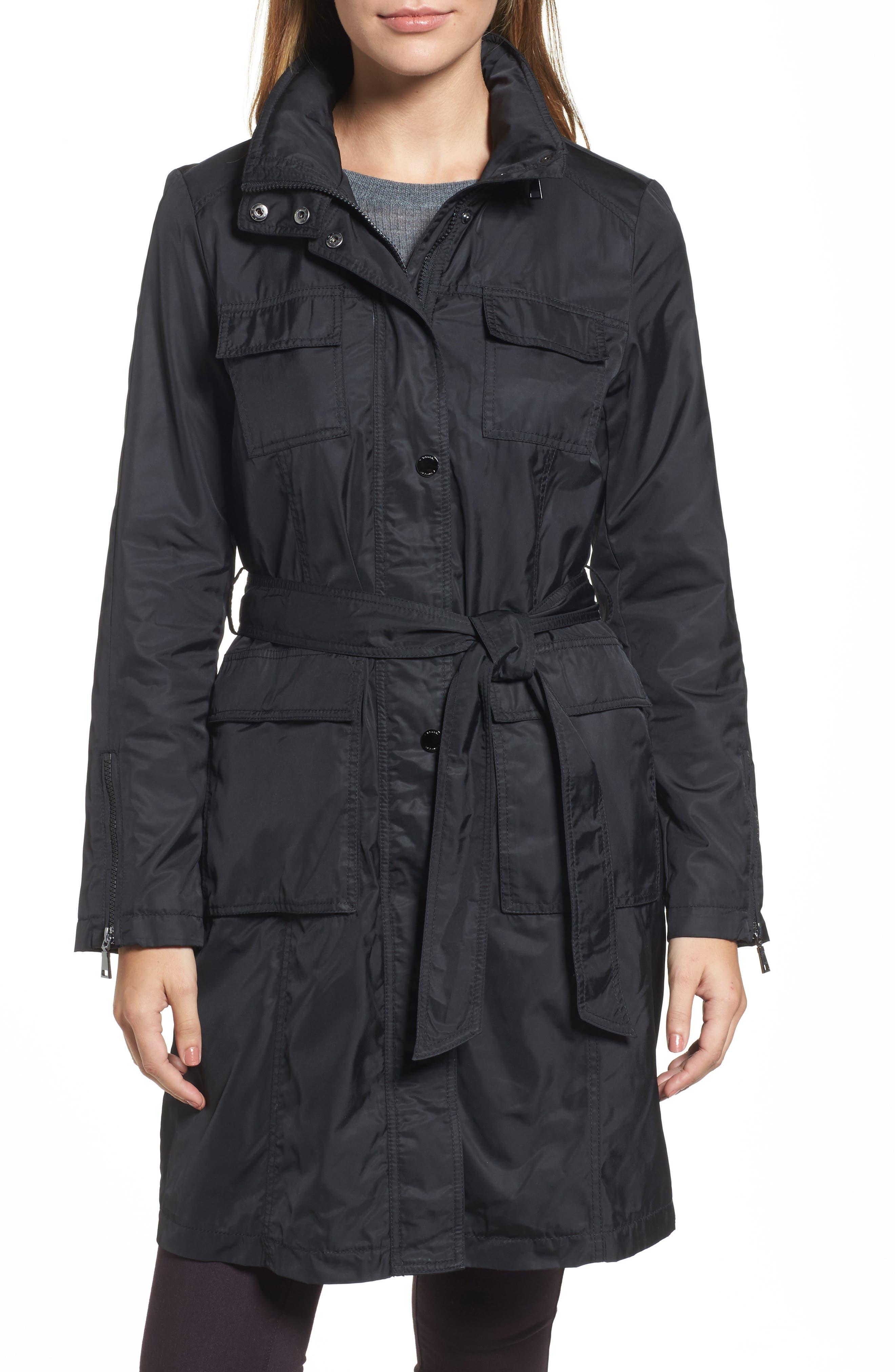Giselle Stowaway Hood Rain Anorak,                         Main,                         color,