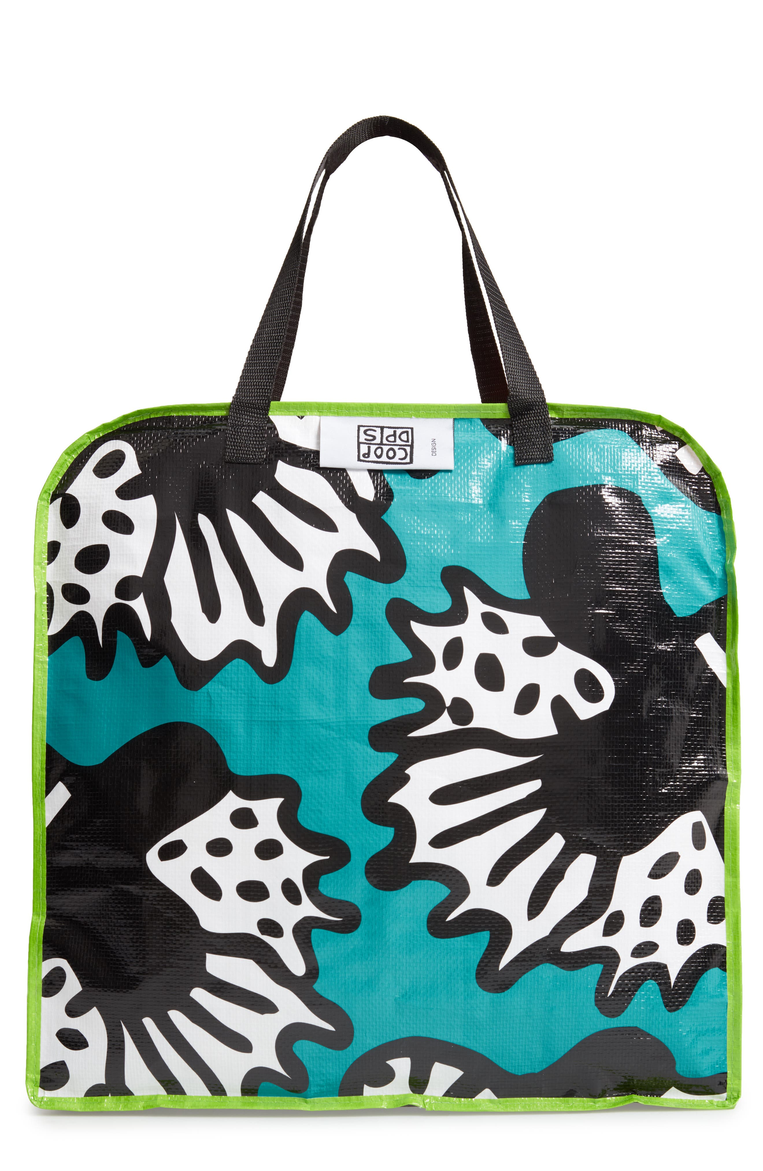 MEMPHIS Milano Butterfly Tote, Main, color, BLUE