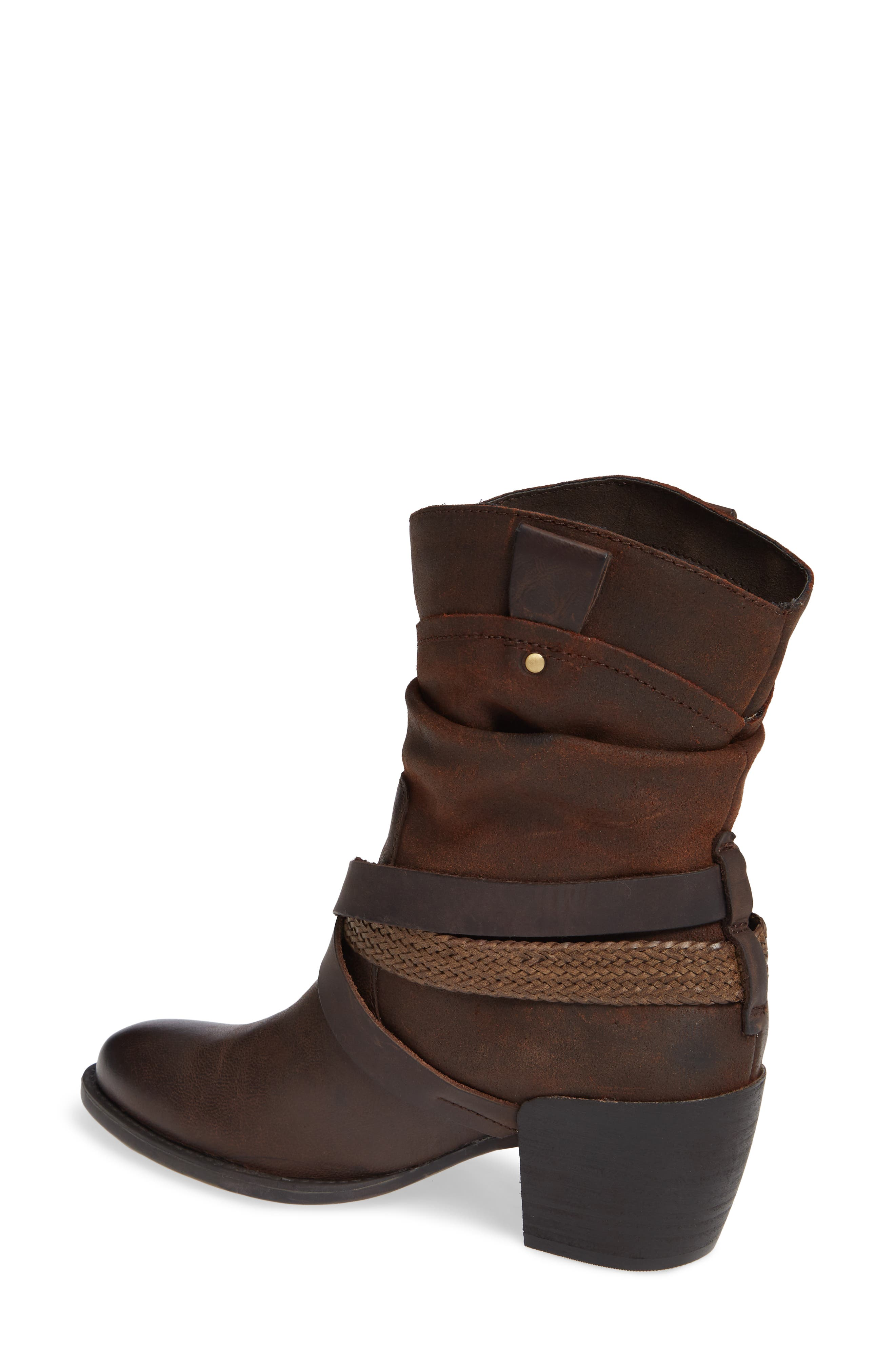 Hay Ride Bootie,                             Alternate thumbnail 2, color,                             COFFEE BEAN LEATHER