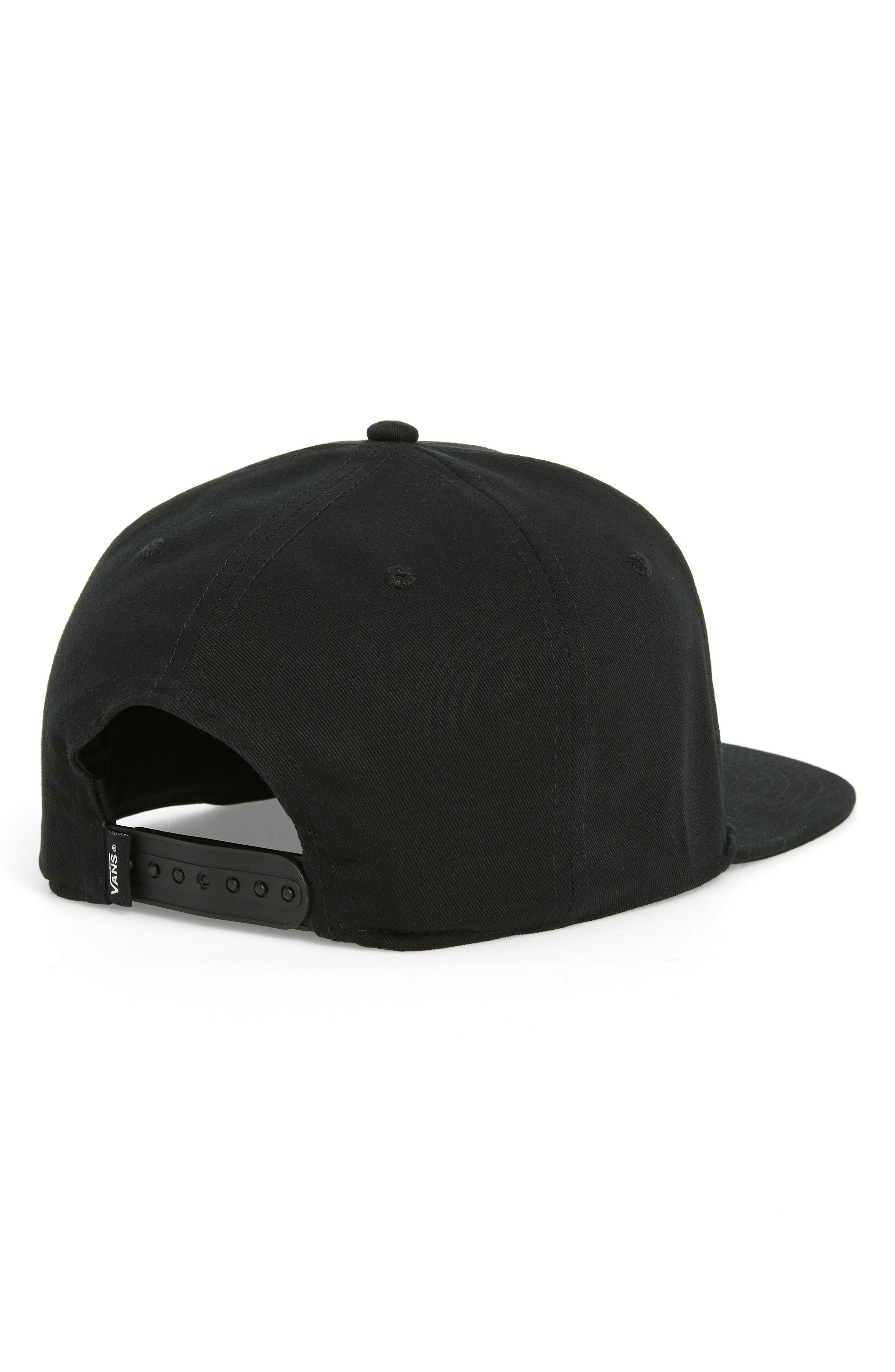 Original 66 Snapback Baseball Cap,                             Alternate thumbnail 2, color,                             BLACK