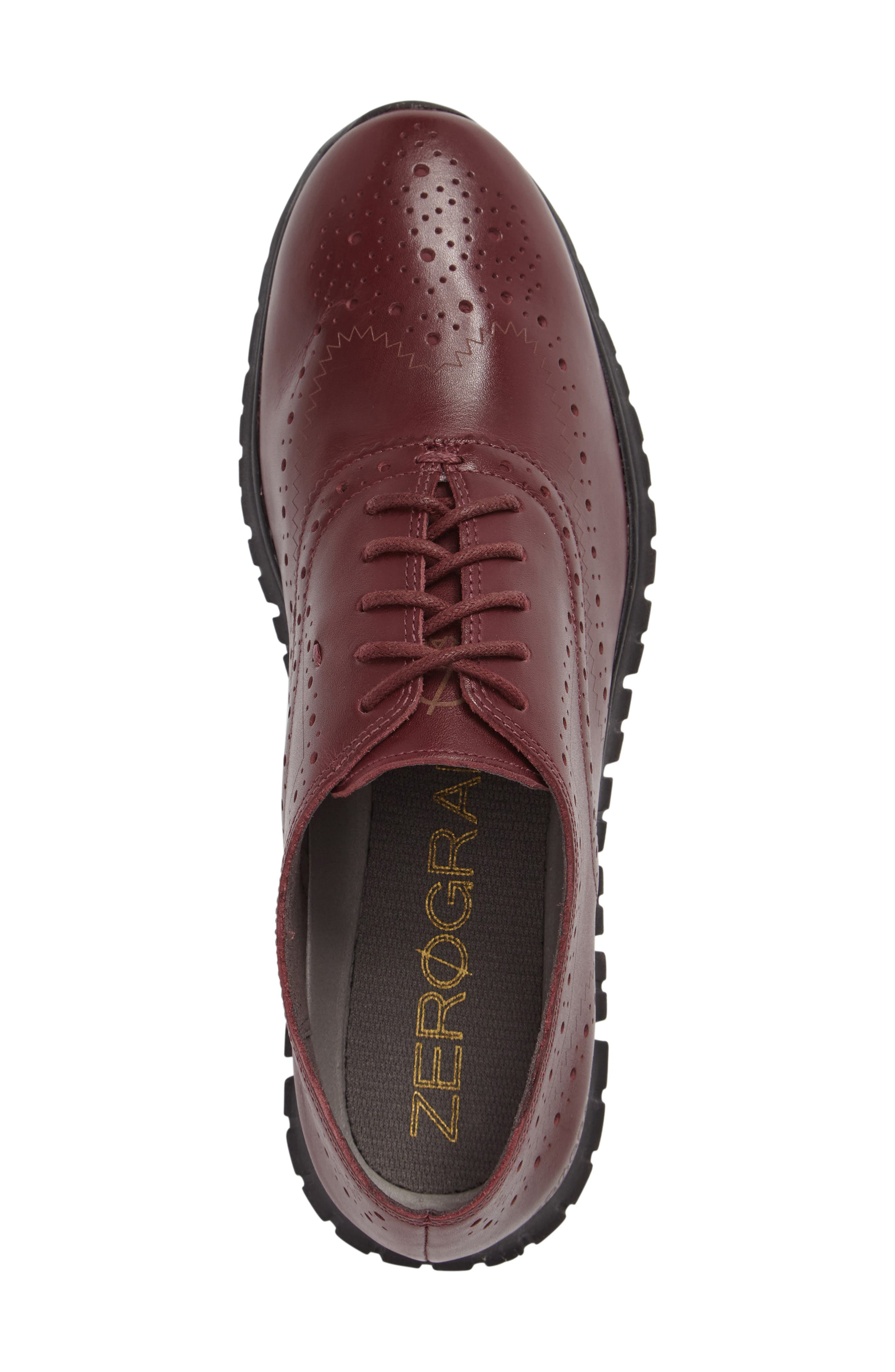 'ZeroGrand' Perforated Wingtip,                             Alternate thumbnail 120, color,