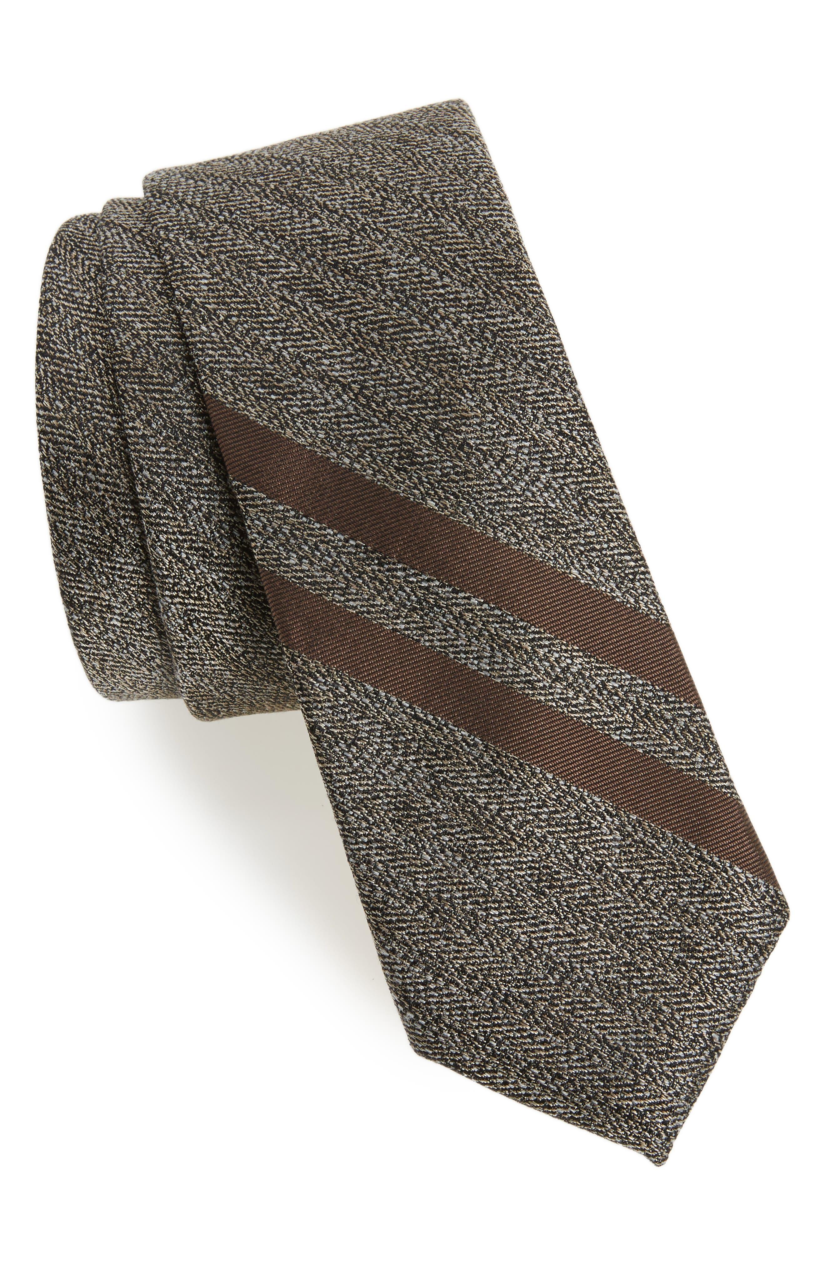 Double Bar Panel Tie,                         Main,                         color,