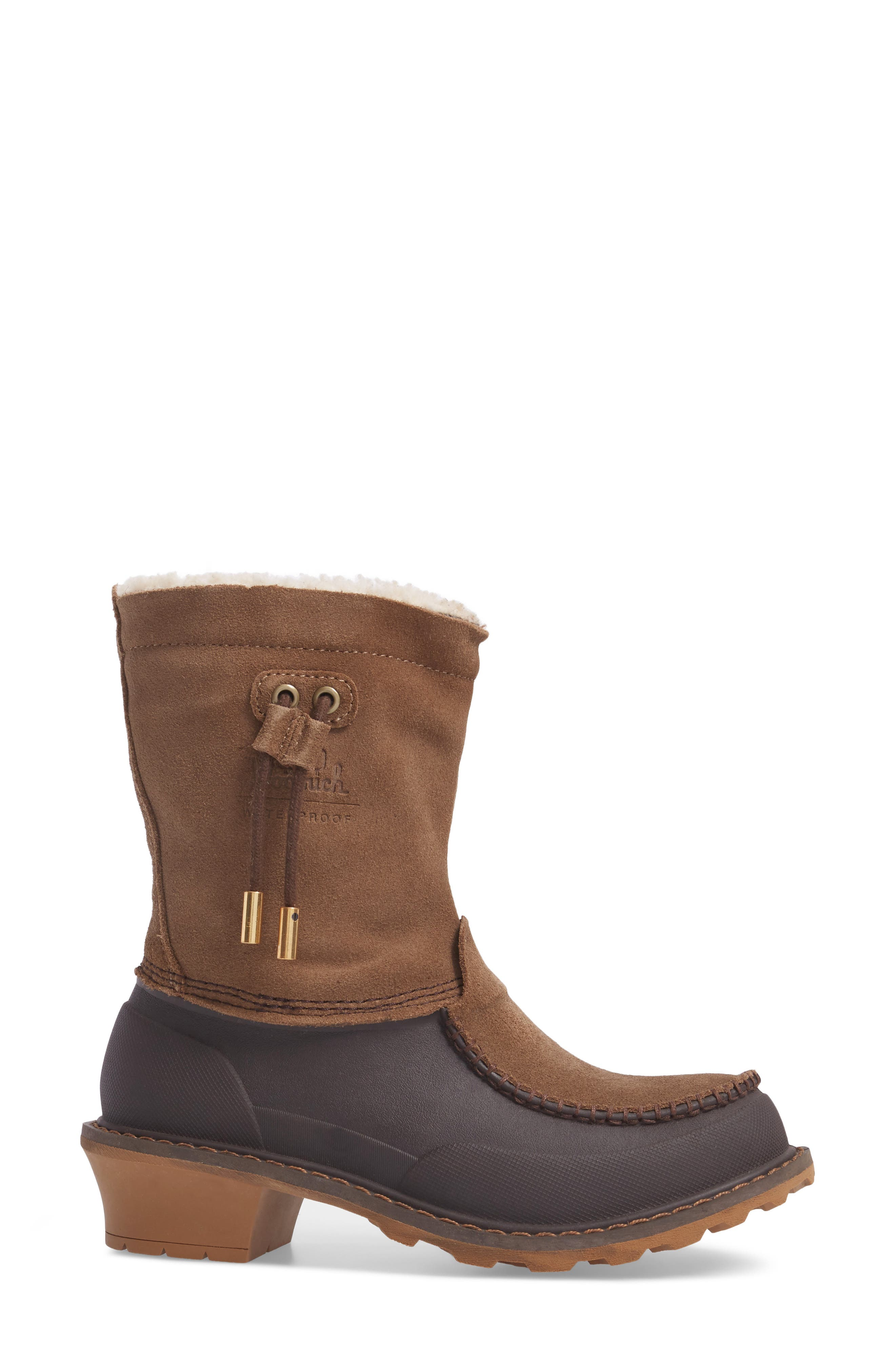 Fully Wooly Waterproof Winter Boot,                             Alternate thumbnail 6, color,