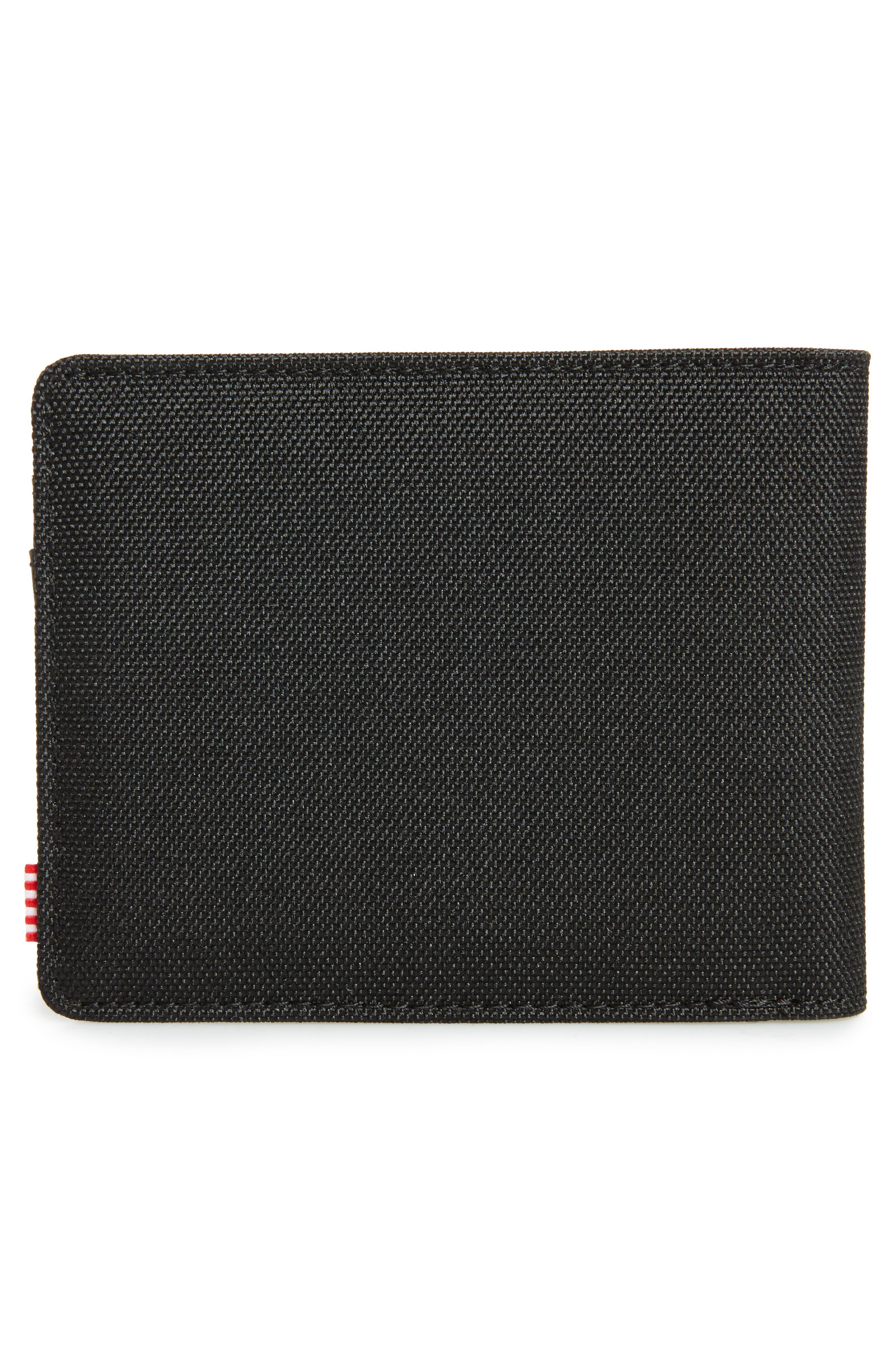 Hank RFID Bifold Wallet,                             Alternate thumbnail 3, color,                             BLACK