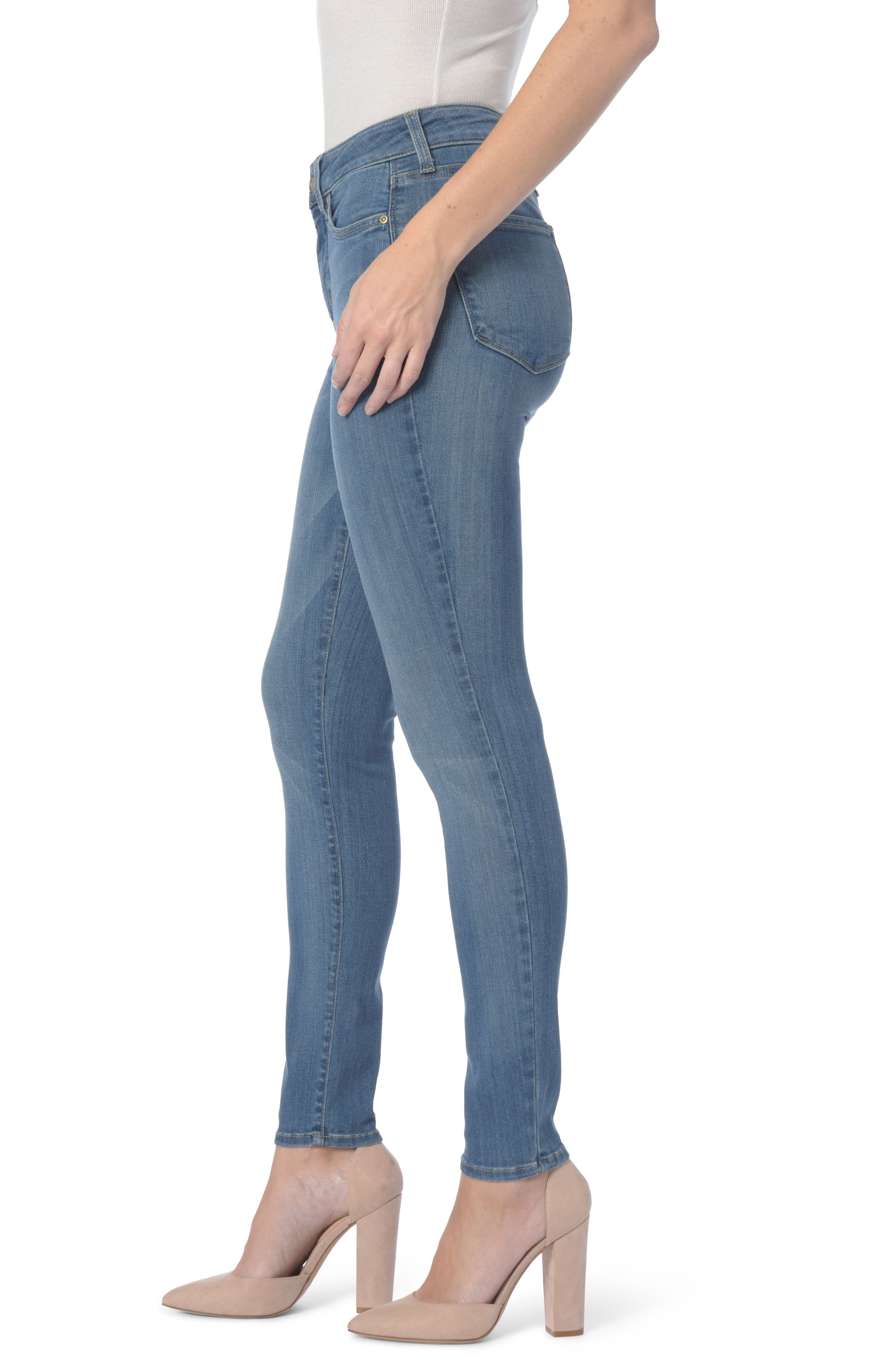 Ami Stretch Super Skinny Jeans,                             Alternate thumbnail 13, color,