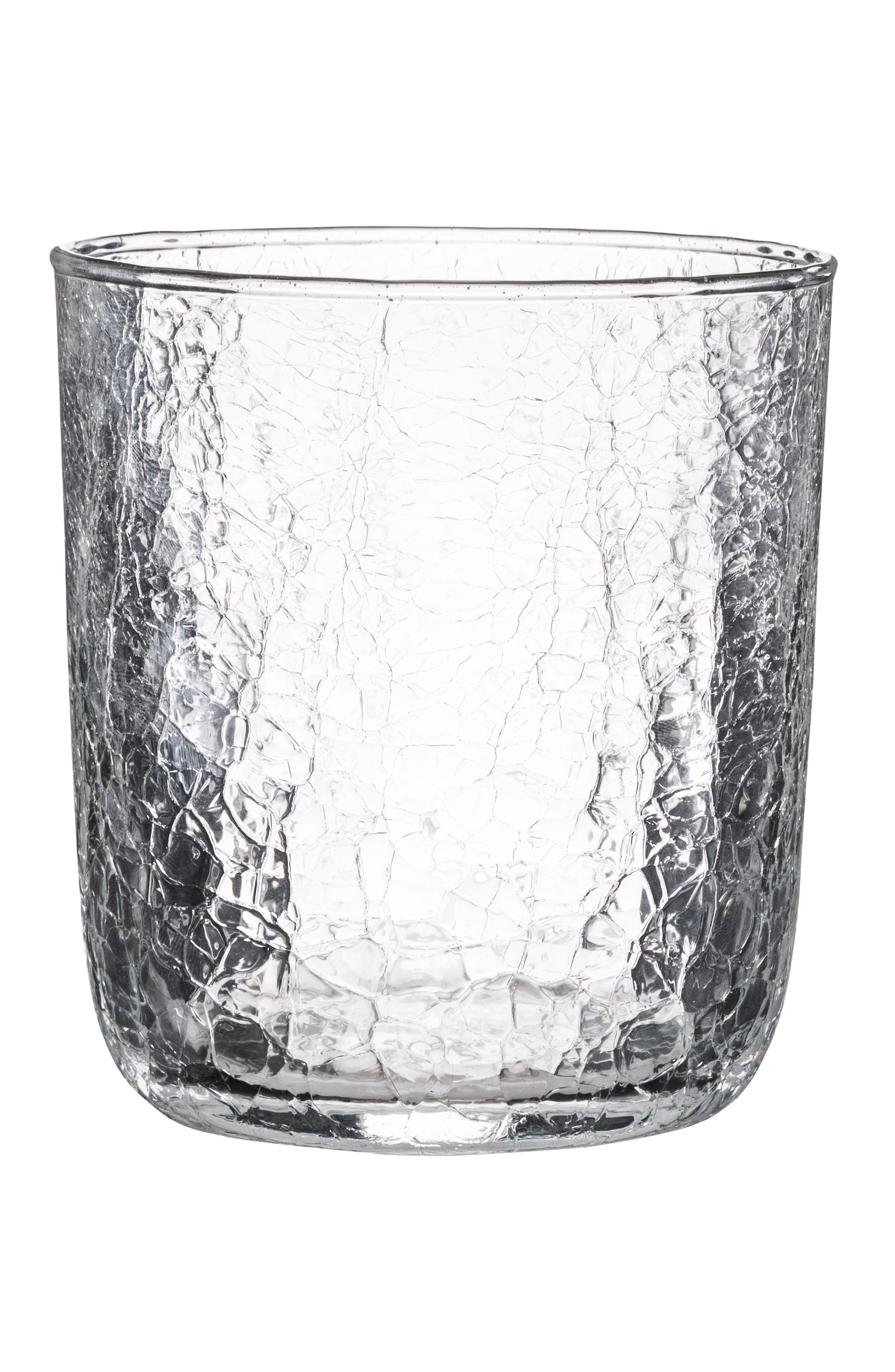 Hugo Double Old-Fashioned Glass,                         Main,                         color, CLEAR