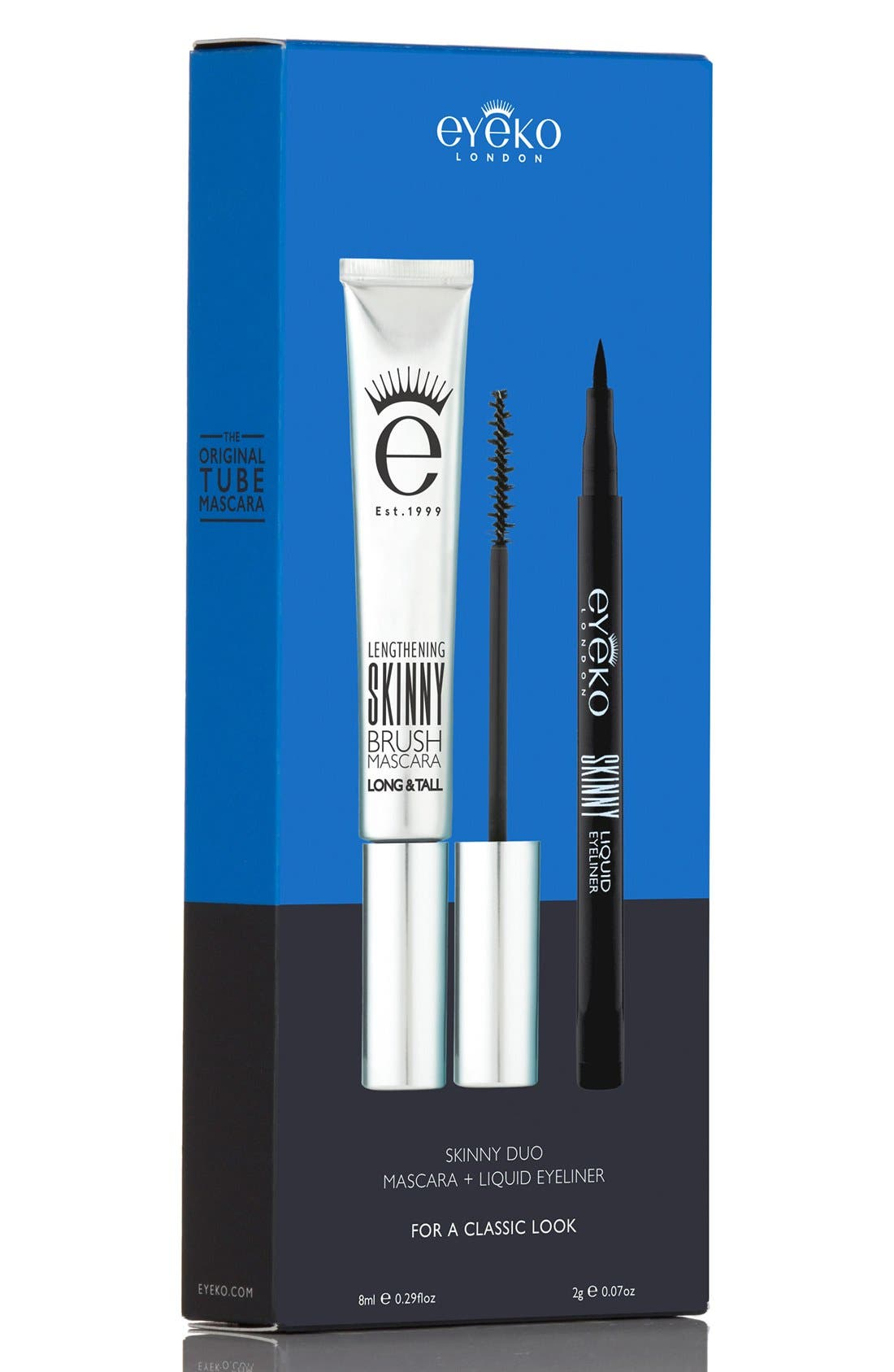 'Skinny' Mascara & Eyeliner Duo,                             Alternate thumbnail 4, color,