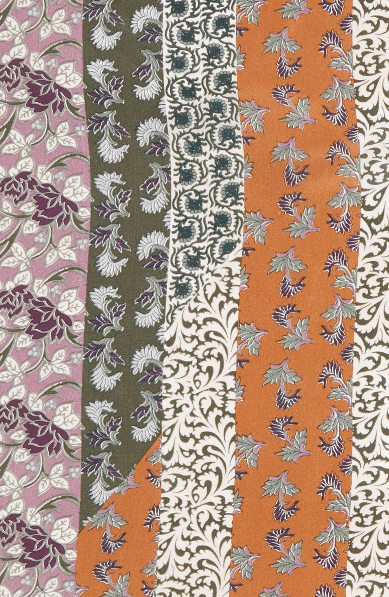 Bloomsbury Square Silk Scarf,                             Alternate thumbnail 4, color,                             315