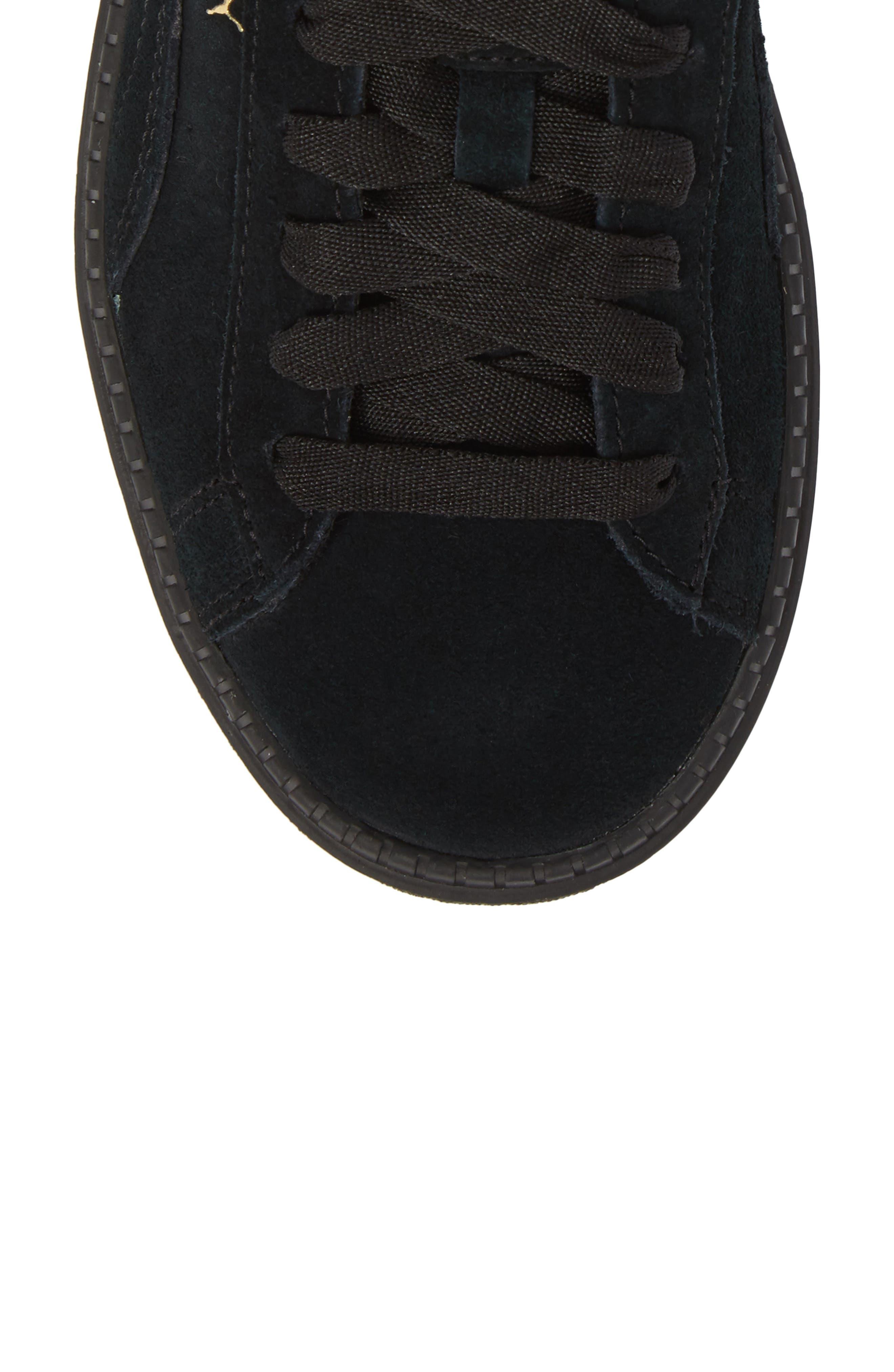 Trace Platform Sneaker,                             Alternate thumbnail 5, color,                             001