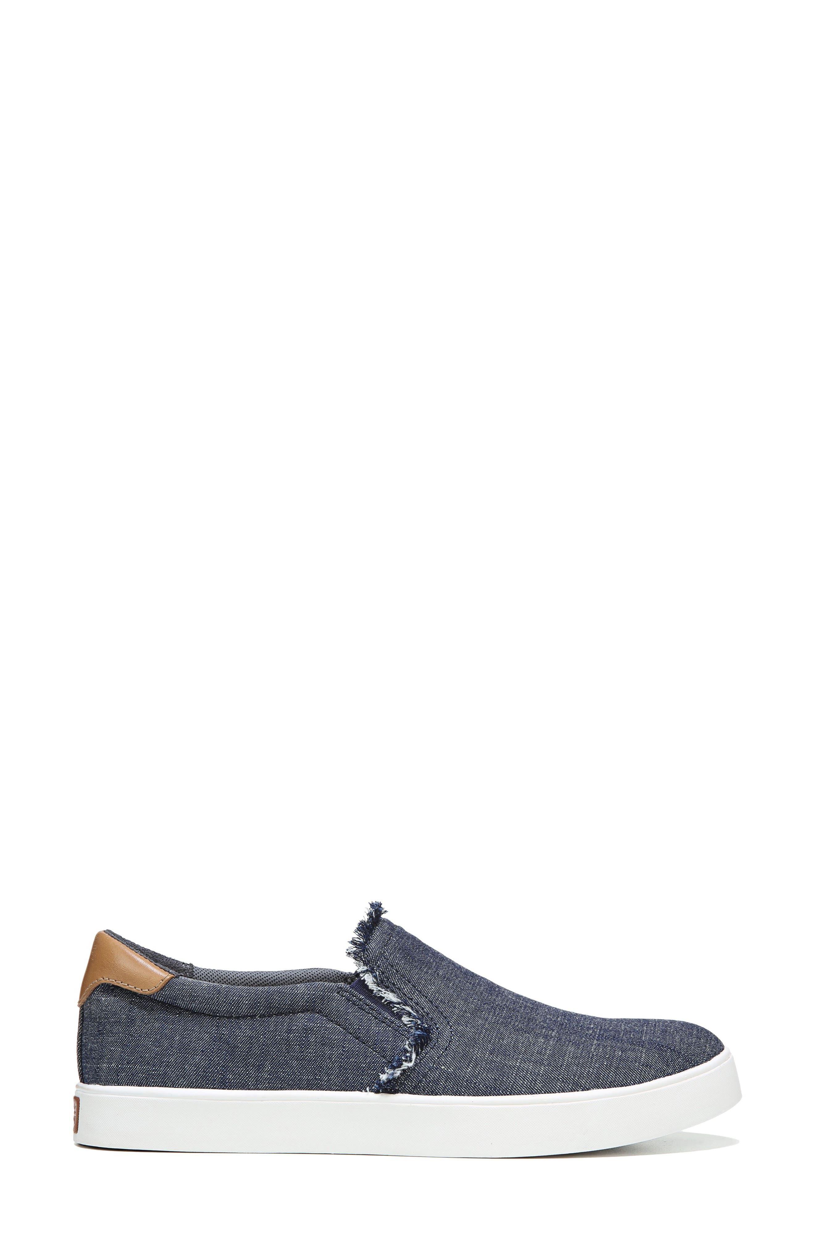 Scout Fray Slip-on Sneaker,                             Alternate thumbnail 3, color,                             400