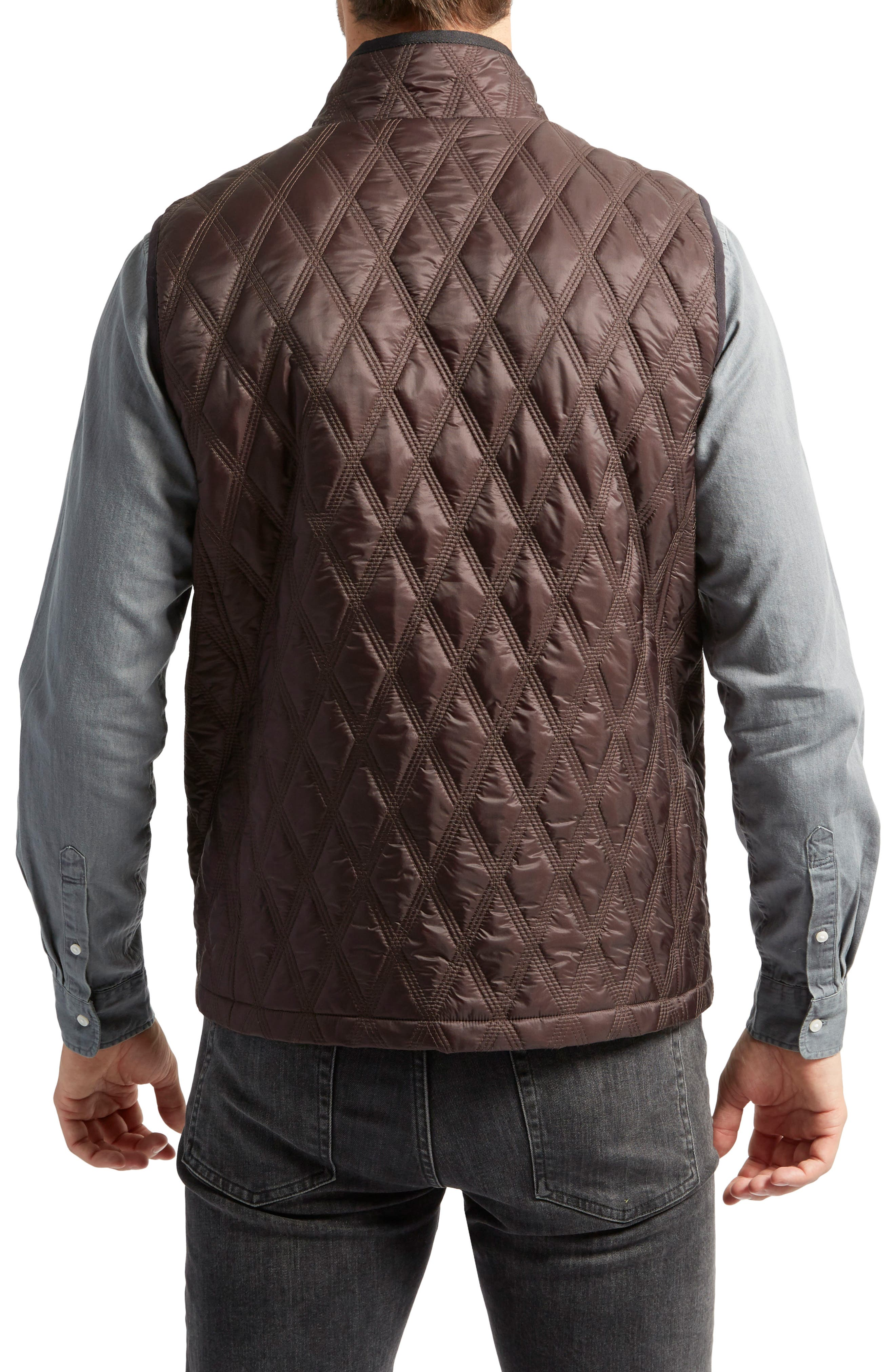 Huntsville Triple Stitch Quilted Heat System Vest,                             Alternate thumbnail 4, color,