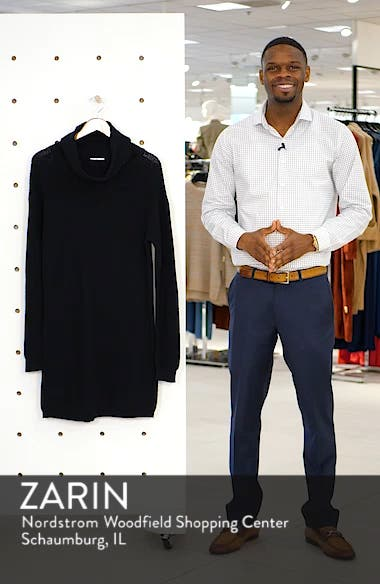 Cowl Neck Sweater Dress, sales video thumbnail